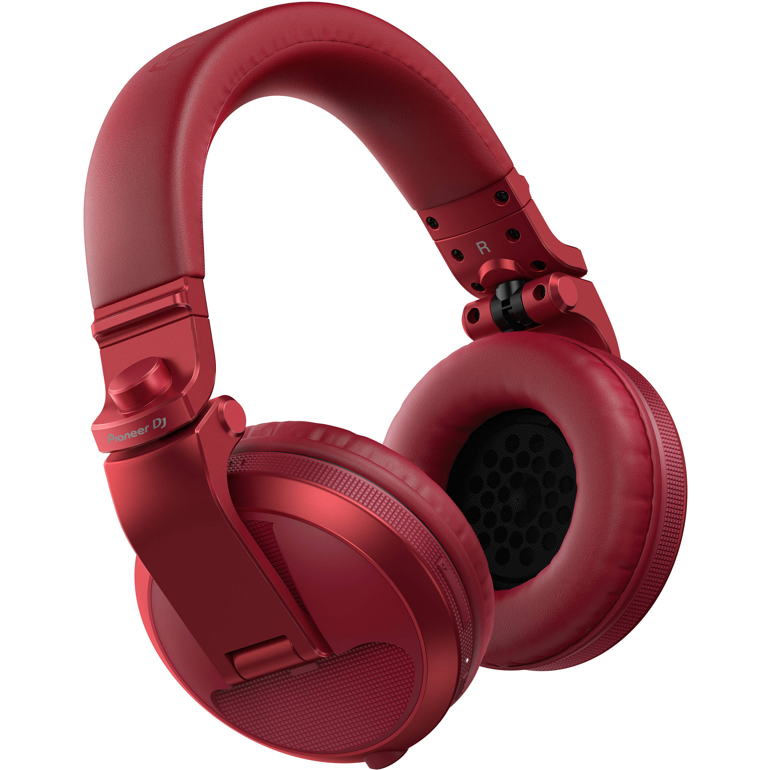 495676dfef4 Pioneer DJ HDJ-X5BT Bluetooth Over-Ear DJ Headphones HDJ-X5BT-R