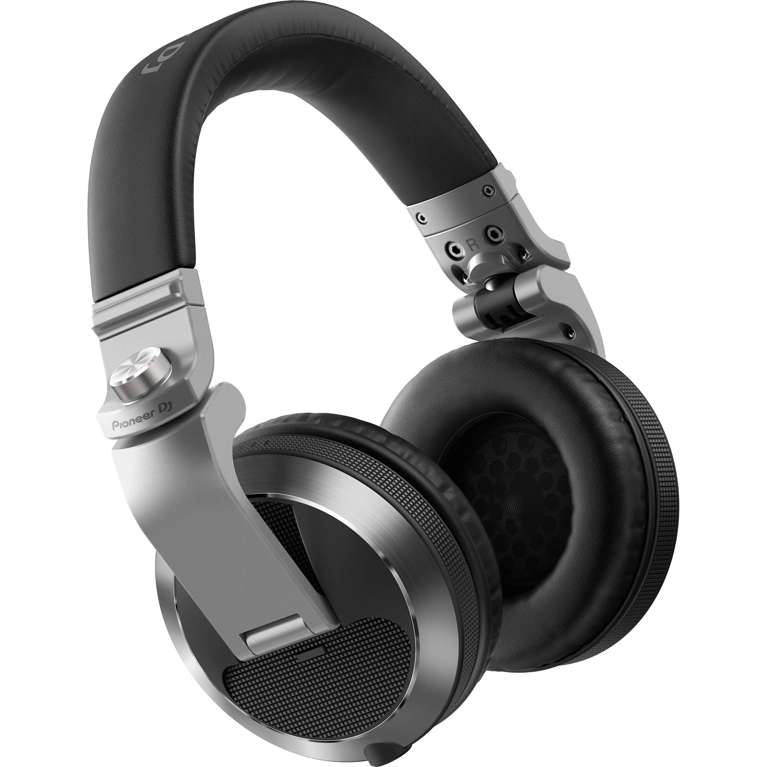 b2e56ec9460 Pioneer DJ HDJ-X7 Professional Over-Ear DJ Headphones (Silver)