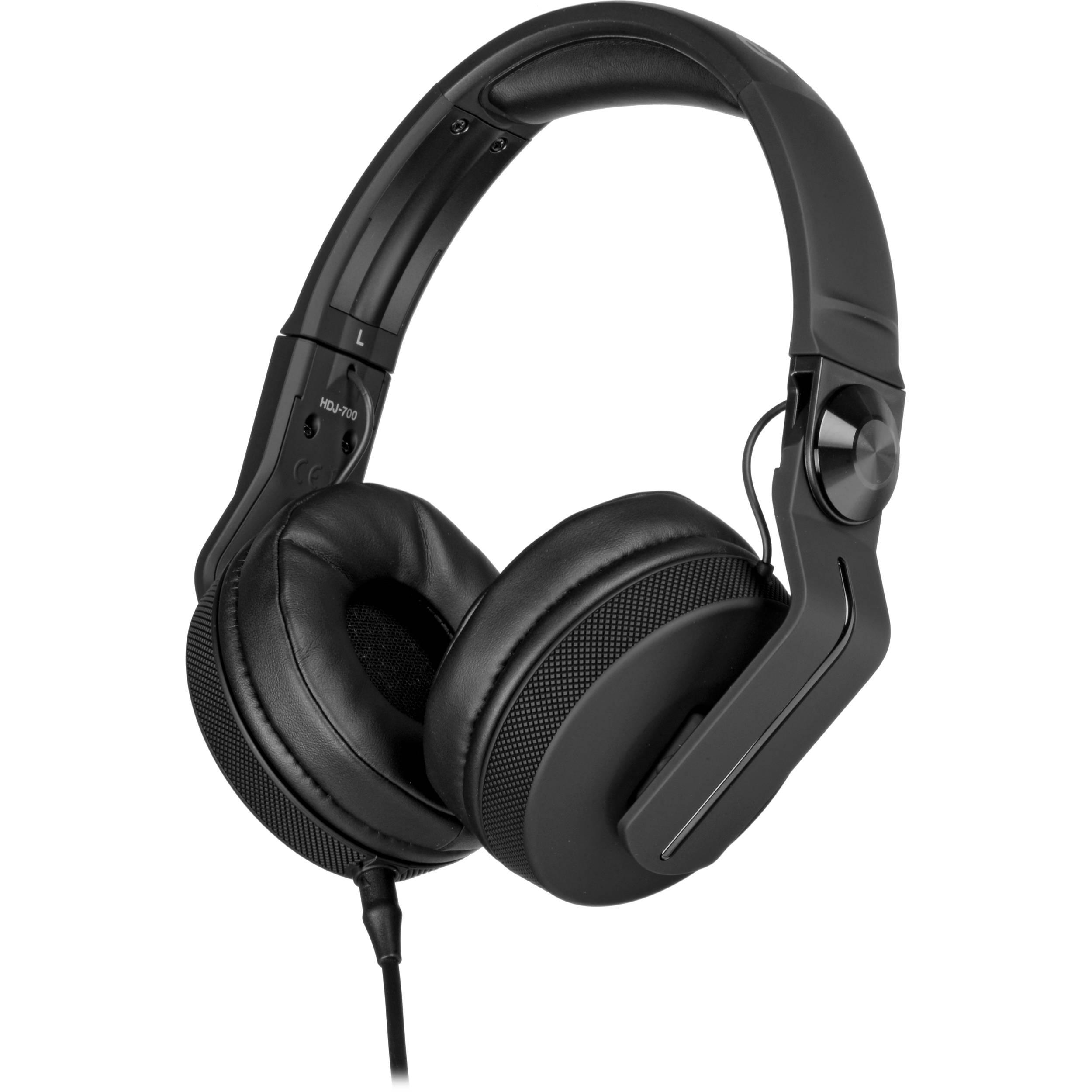 0746d6d5df1 Pioneer DJ HDJ-700 DJ Headphones (Matte Black) HDJ-700-K B&H