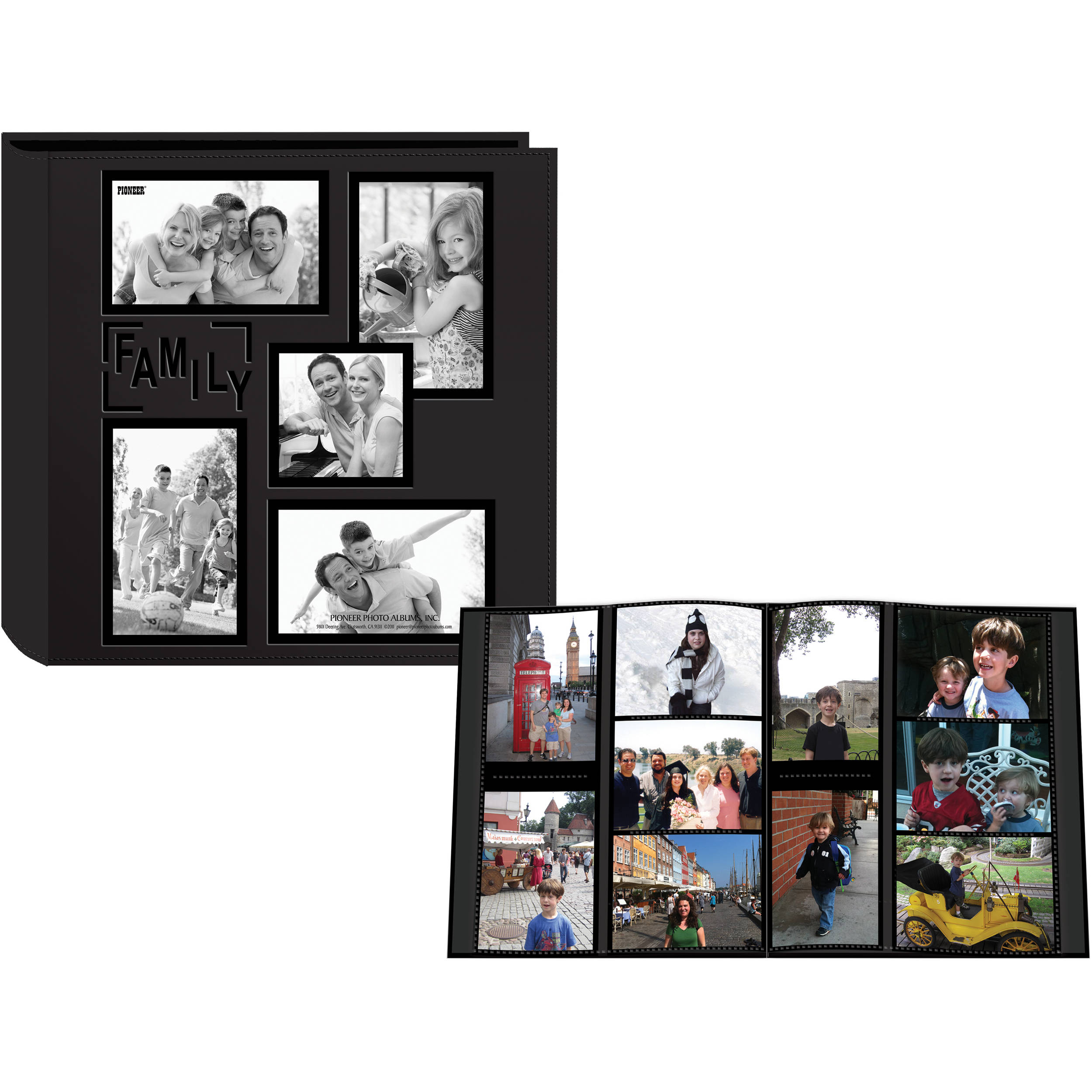 Pioneer Photo Albums 5col240 Collage Frame Embossed 5col240fm