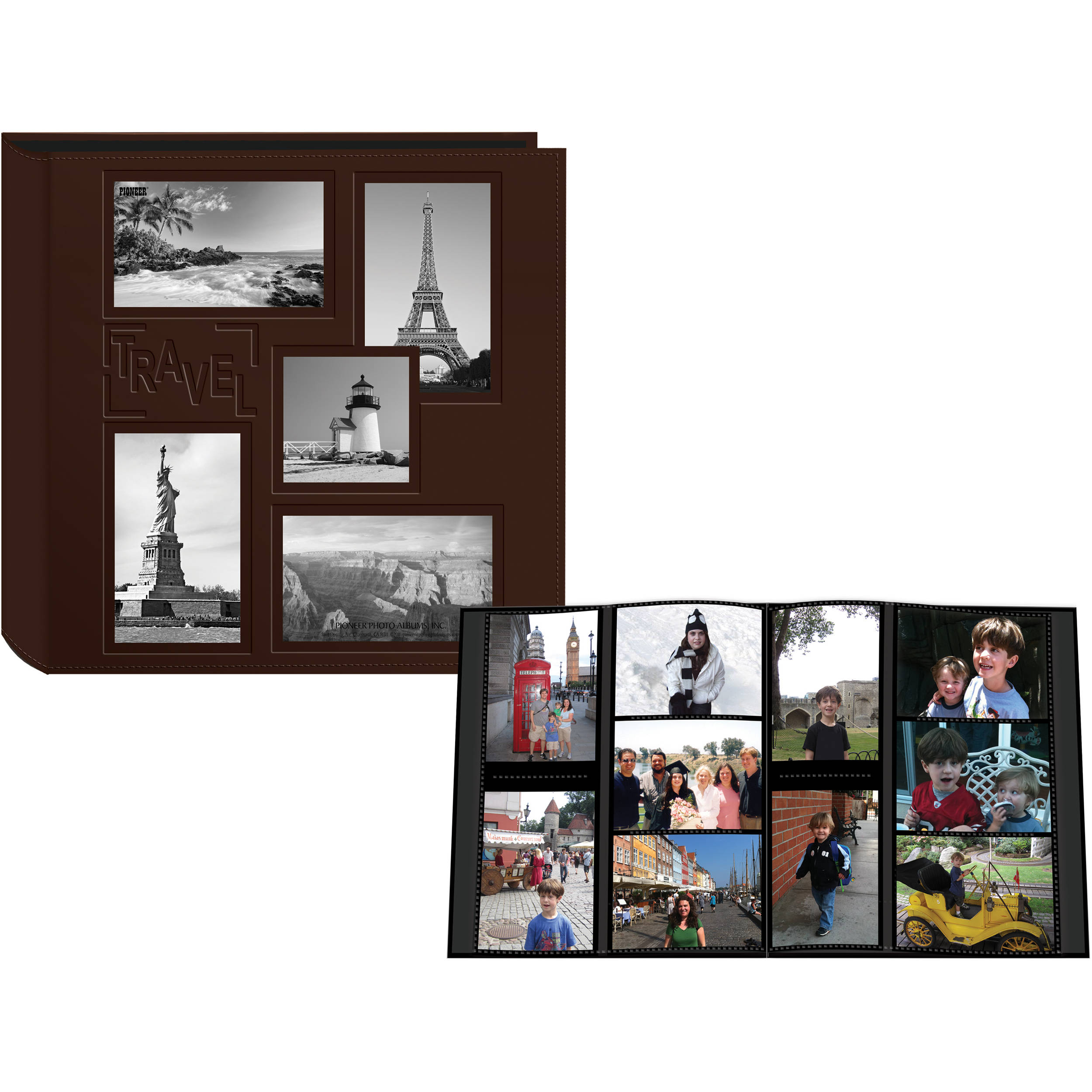Pioneer Photo Albums 5COL240 Collage Frame Embossed 5COL240TR