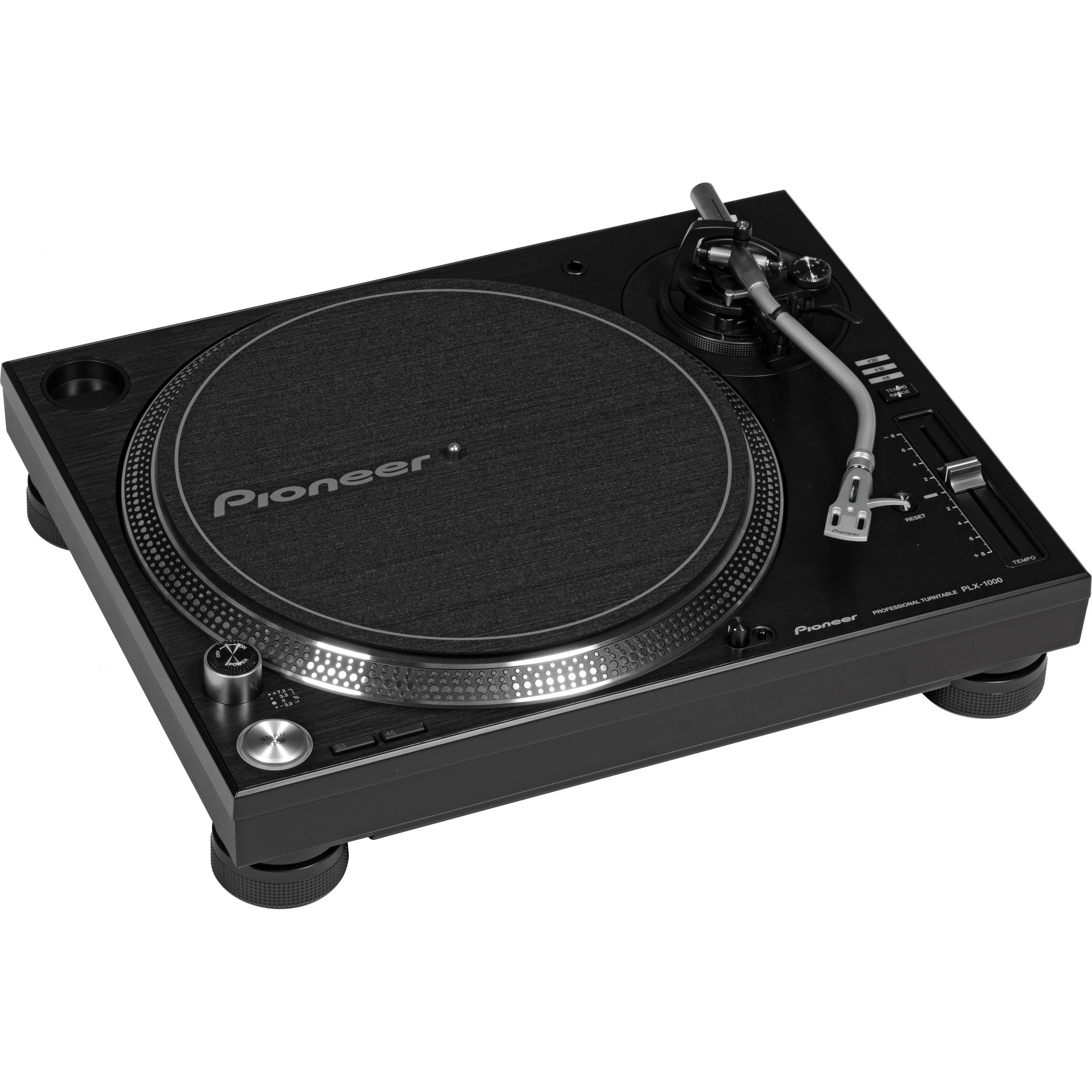 Pioneer DJ PLX-1000 Professional Turntable PLX-1000 B&H Photo