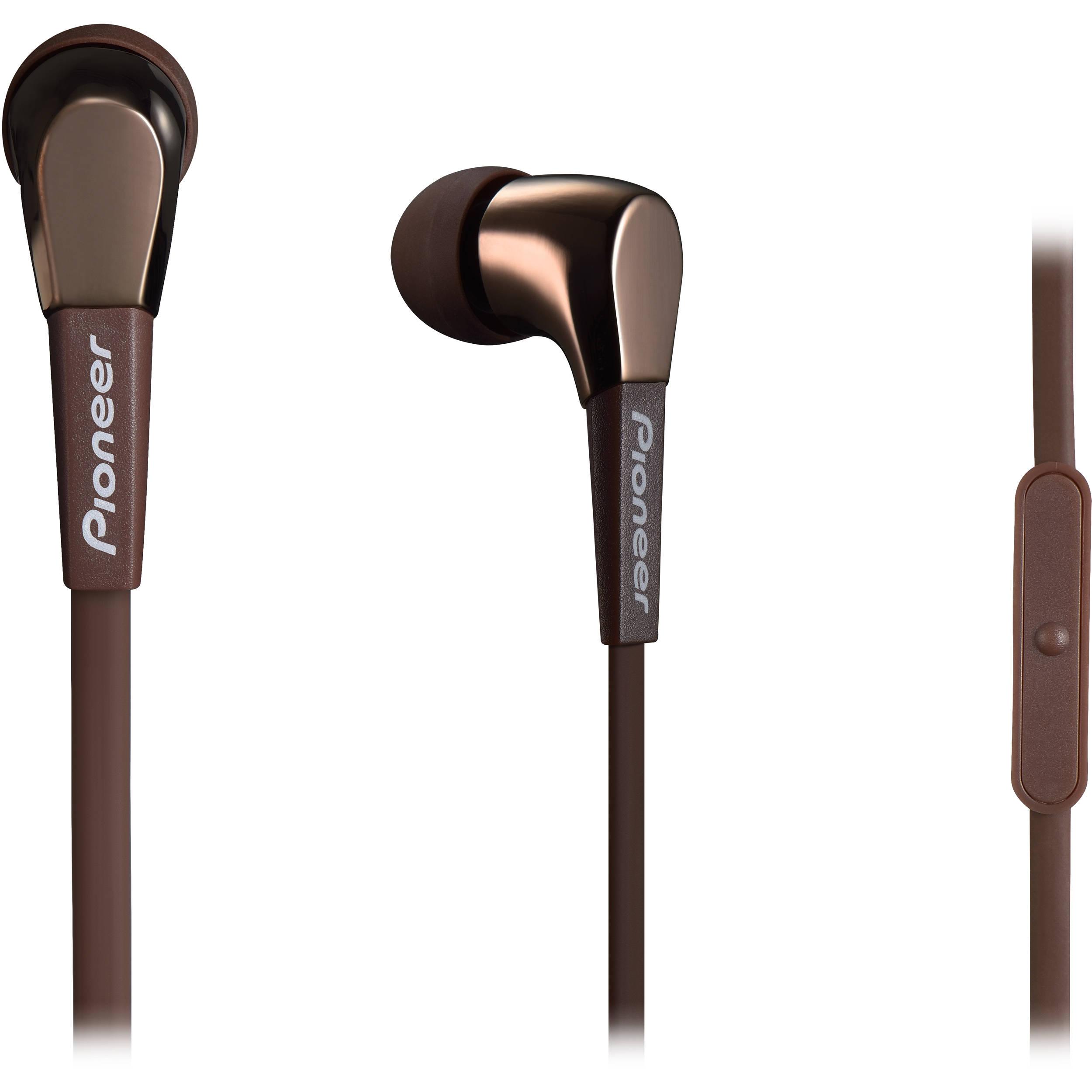 Zip up earbuds - Pioneer SE-CL722T - earphones with mic Overview