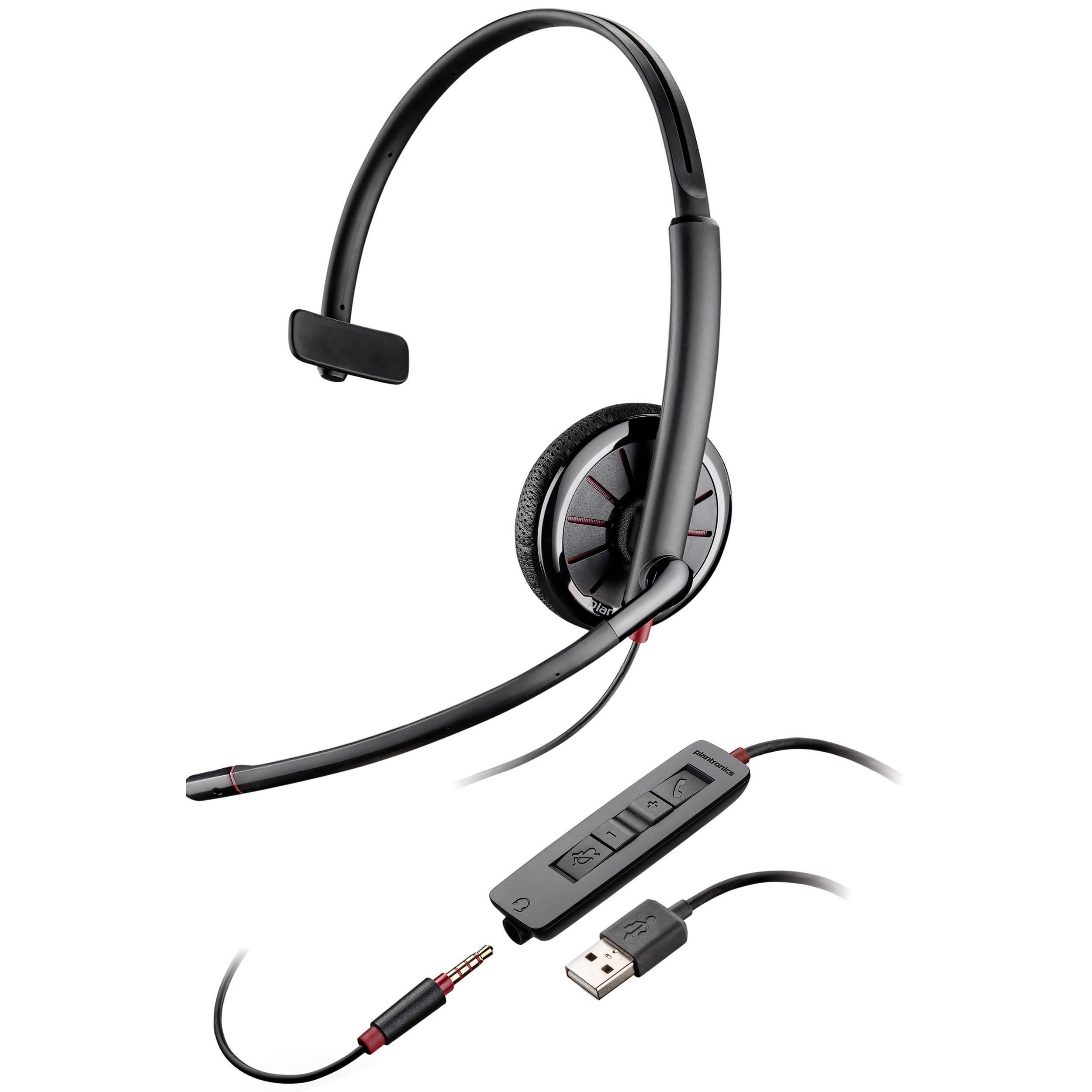 plantronics blackwire 315 monaural headset 204440