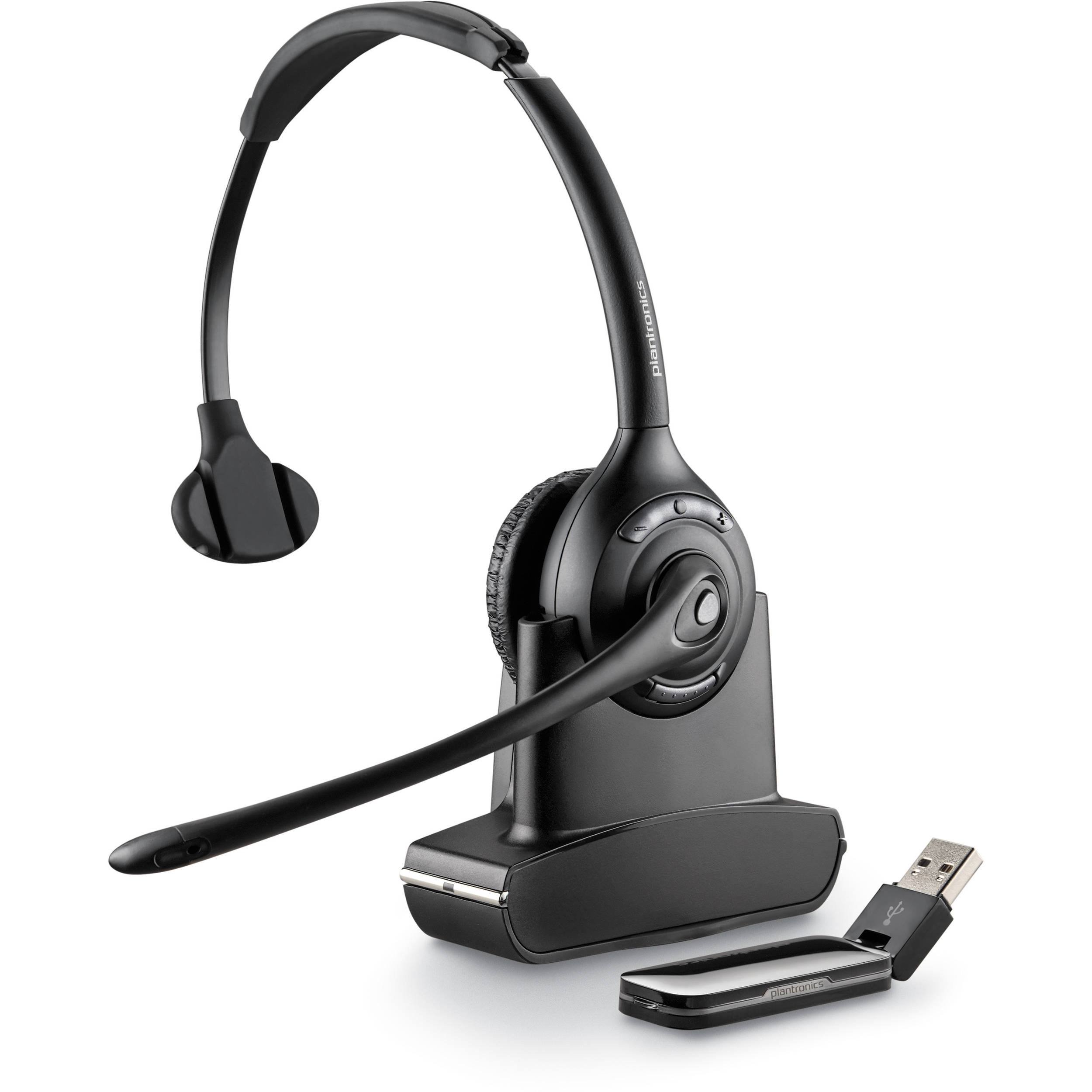 Plantronics Savi W410 Monaural Over The Head Usb 84007 03 B Amp H