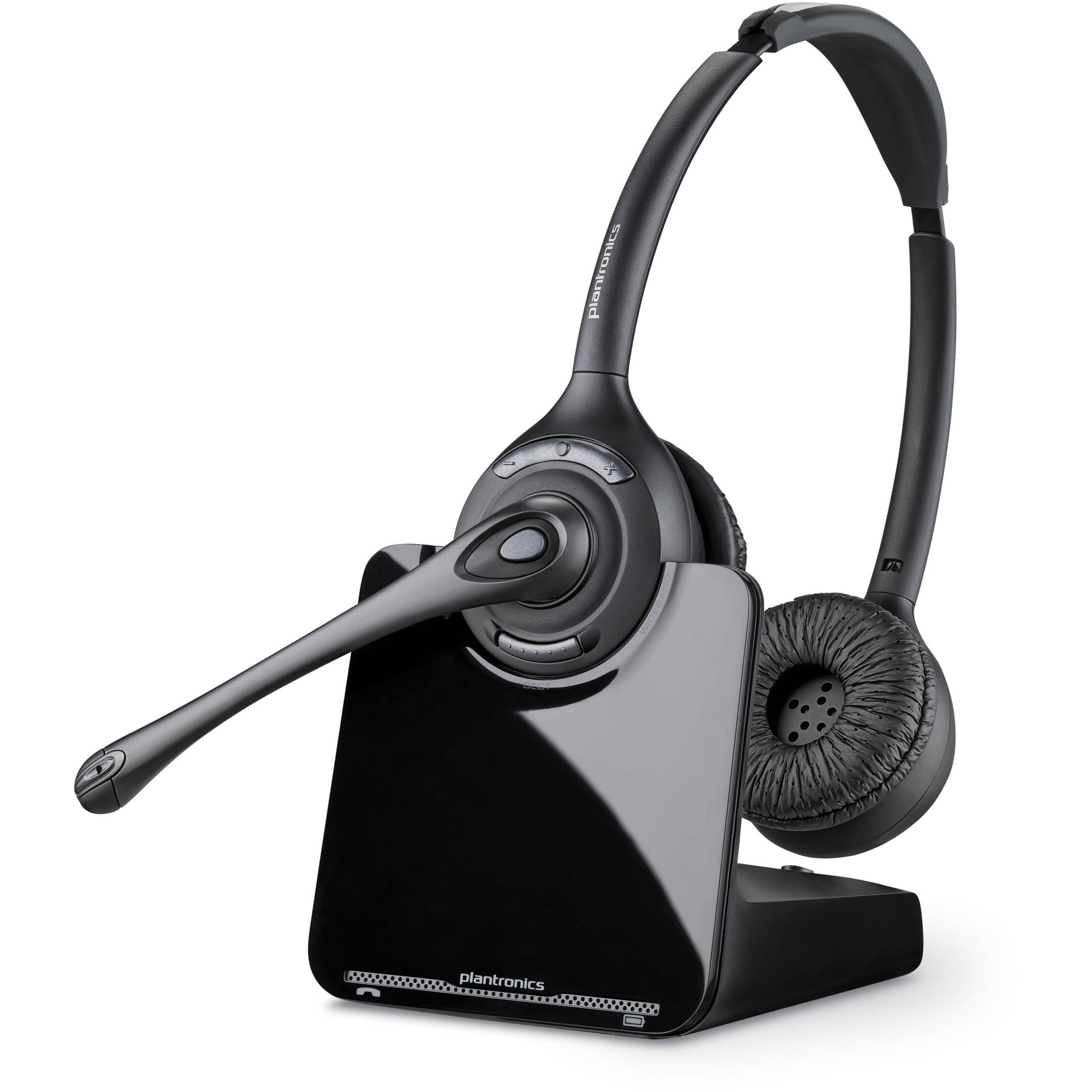 Plantronics Cs520 Wireless Dect Headset System 84692 11 B Amp H