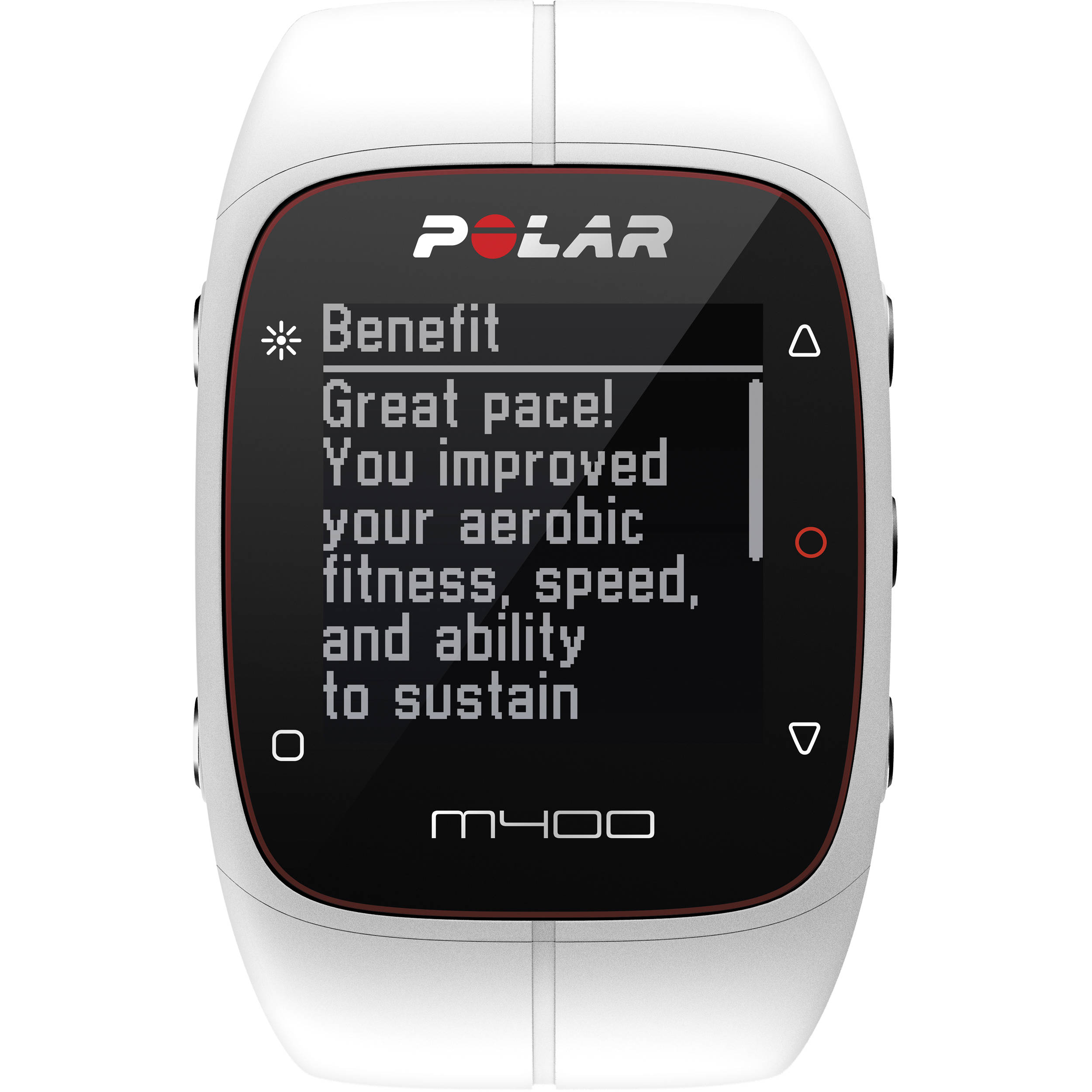 polar m400 sports watch with gps heart rate 90051345 b h. Black Bedroom Furniture Sets. Home Design Ideas