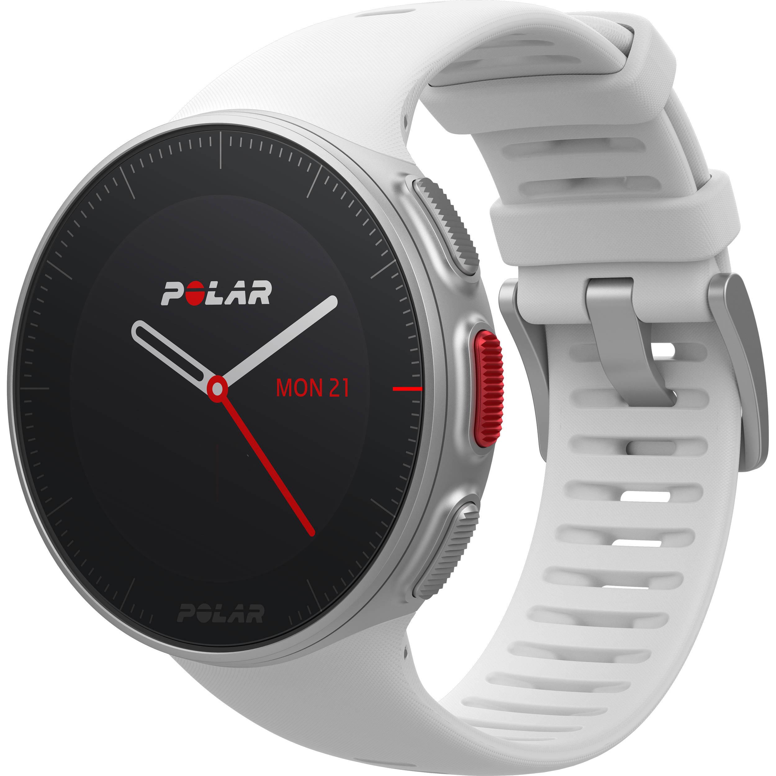 0678286a1b1 Polar Vantage V Multisport/Triathlon GPS Watch with H10 Heart Rate Sensor  (M/