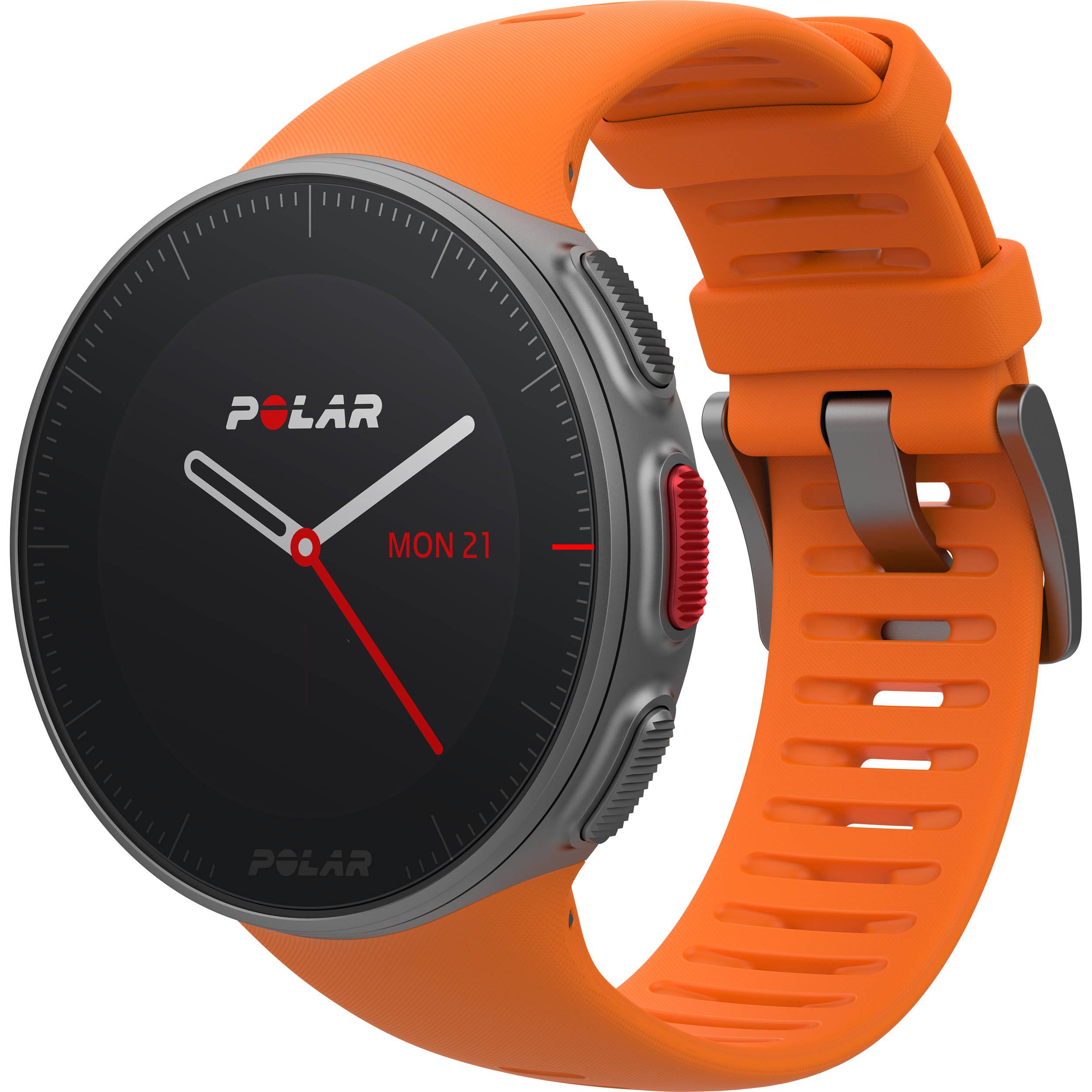fc505d9ef Polar Vantage V Multisport/Triathlon GPS Watch with H10 Heart Rate Sensor  (M/