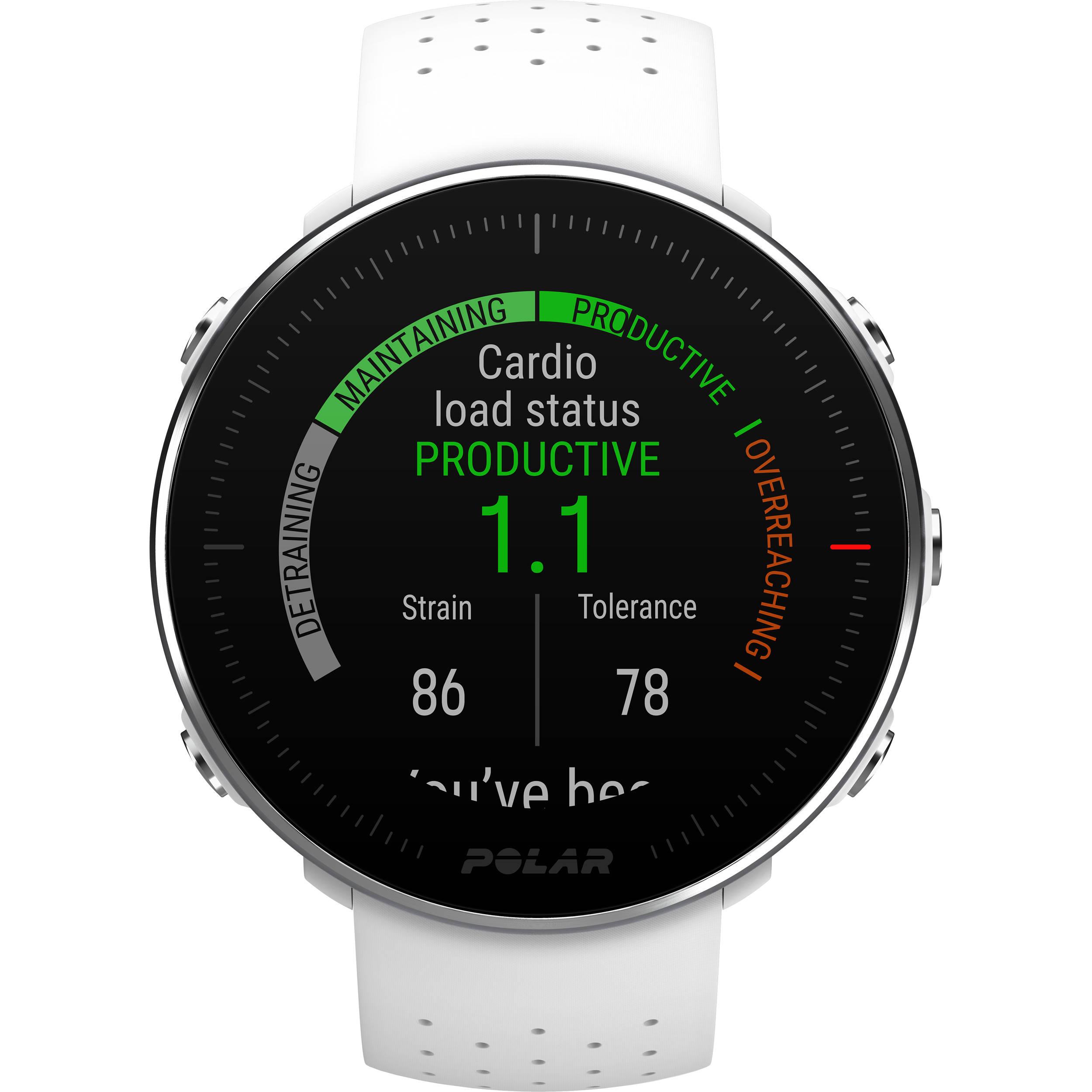 502c48f4496 Polar Vantage M Multisport & Running GPS Watch (Small/Medium, White)