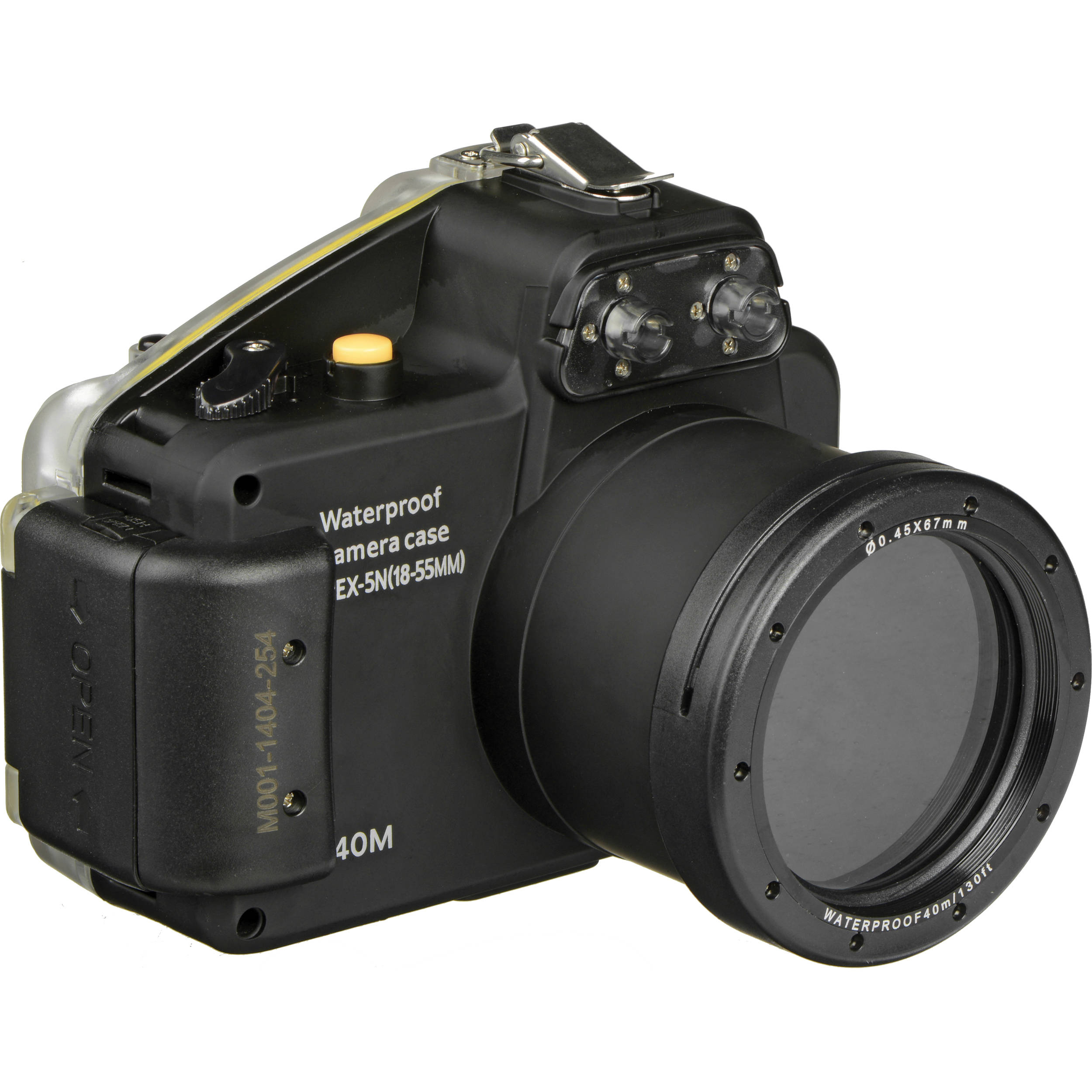 sony nex 5. polaroid underwater housing for sony alpha nex-5n digital camera and 18-55mm lens nex 5