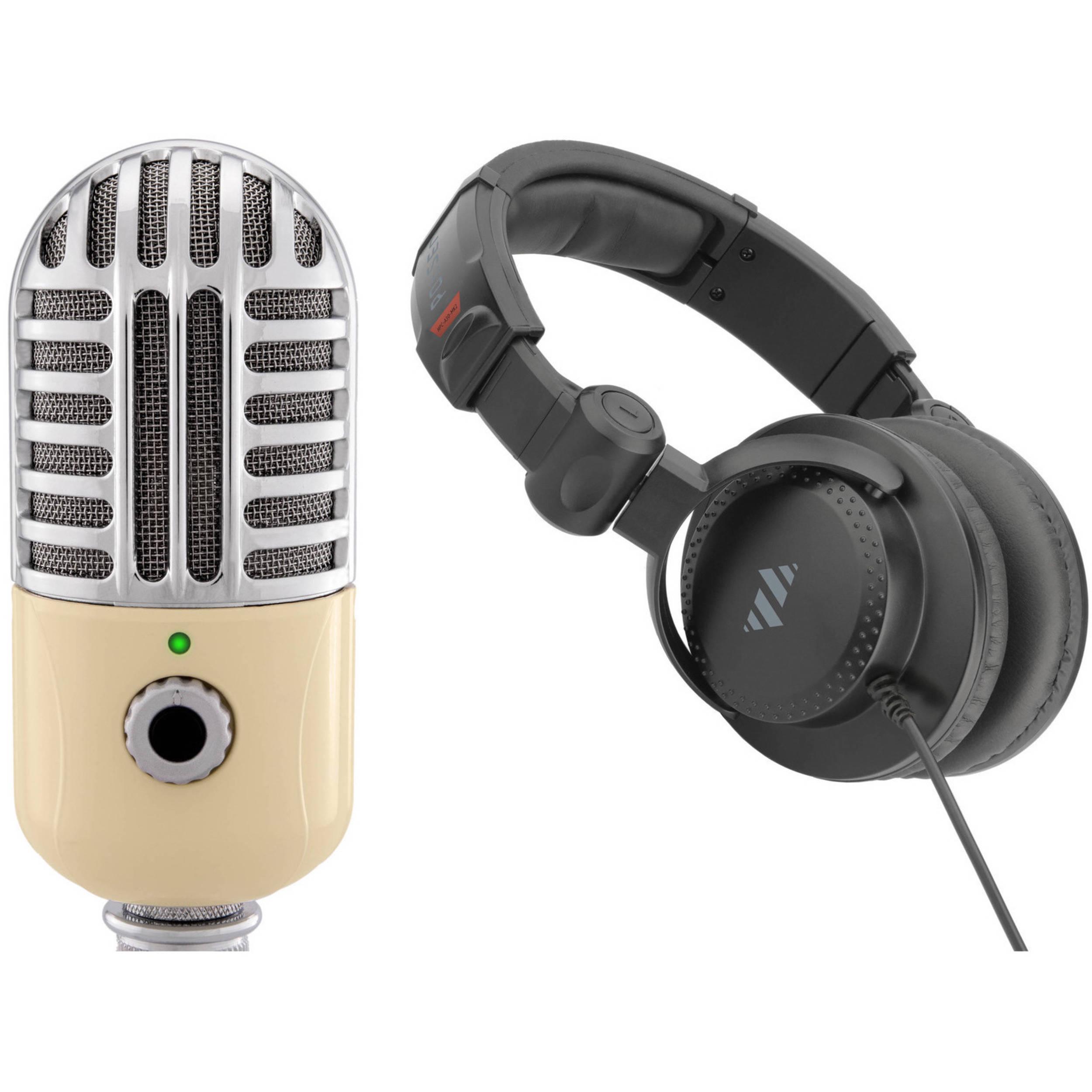 polsen usb mic with desktop reflection filter and mic stand kit. Black Bedroom Furniture Sets. Home Design Ideas