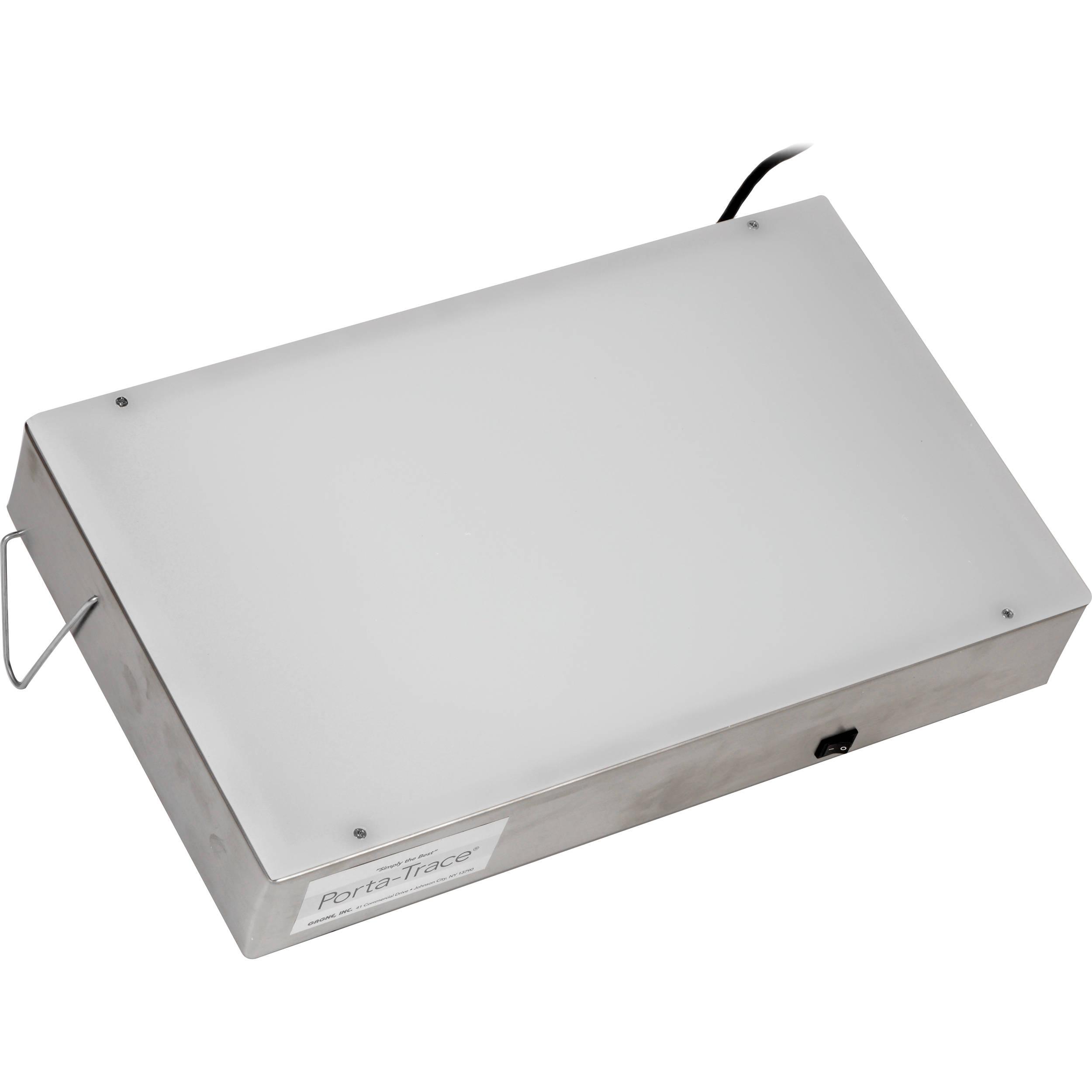 porta trace gagne 1118 1 stainless steel led light box. Black Bedroom Furniture Sets. Home Design Ideas