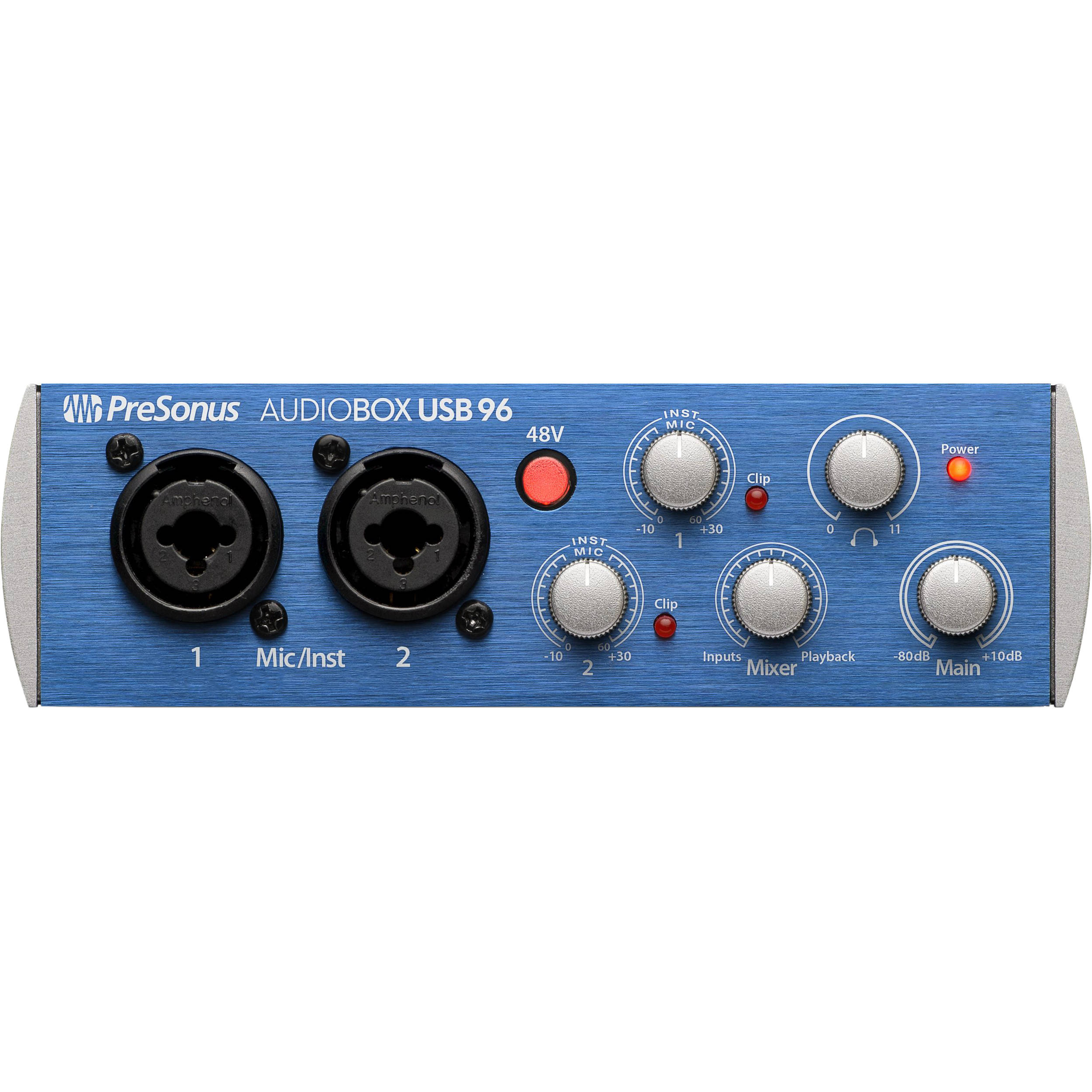 presonus audiobox usb 96 driver