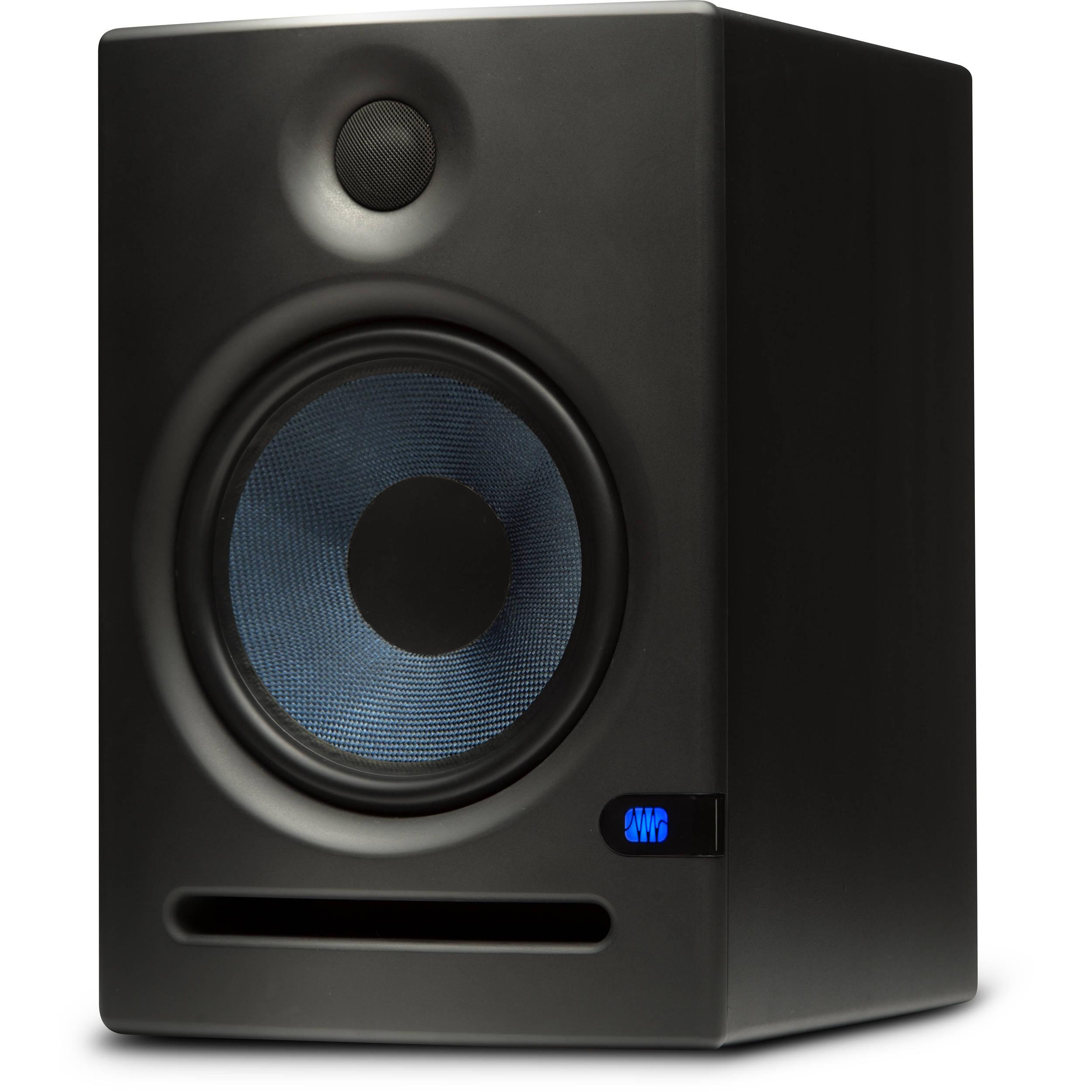 Two Way Audio Monitor : Presonus eris e two way active quot studio monitor