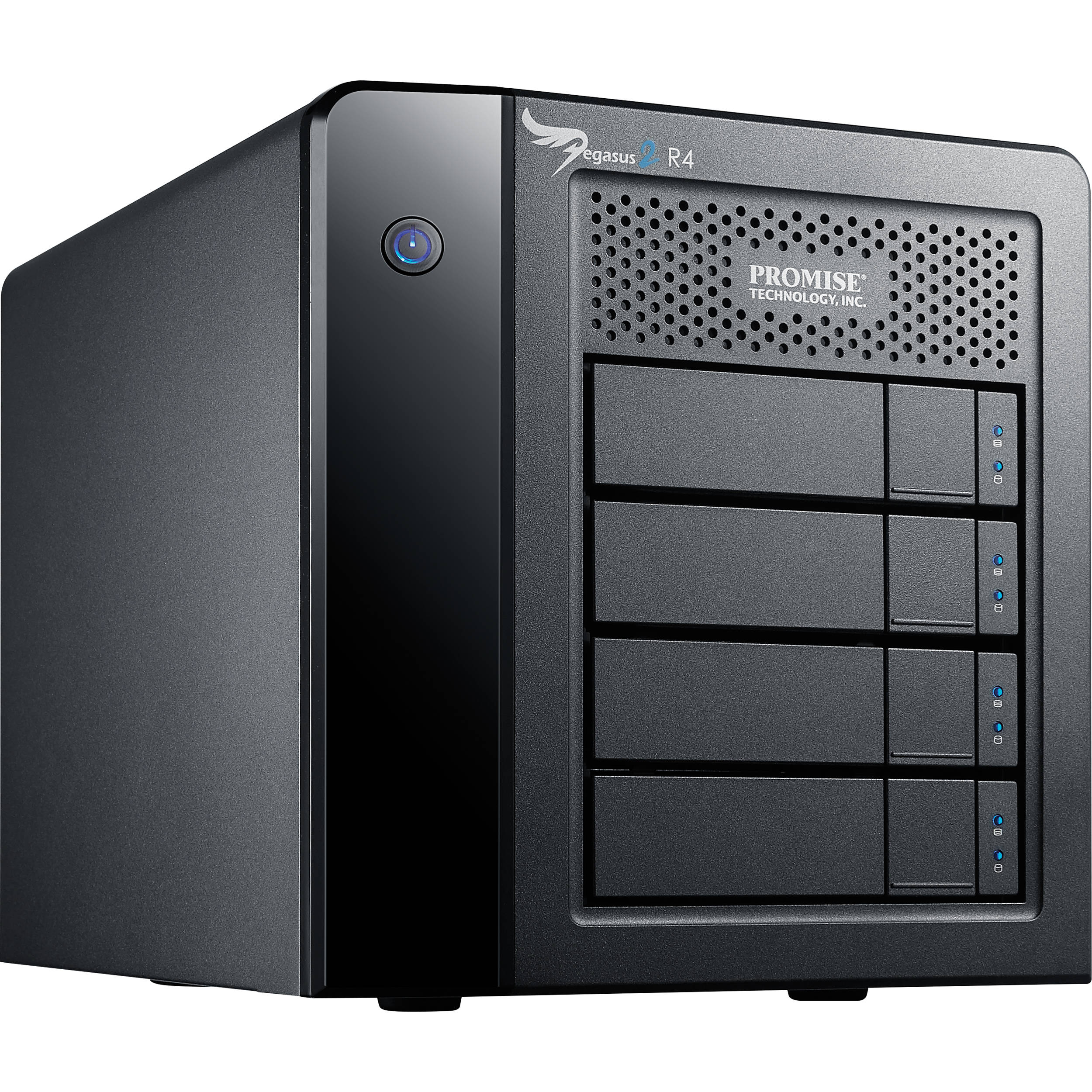 Promise technology 8tb pegasus2 r4 thunderbolt 2 raid for Storage bay