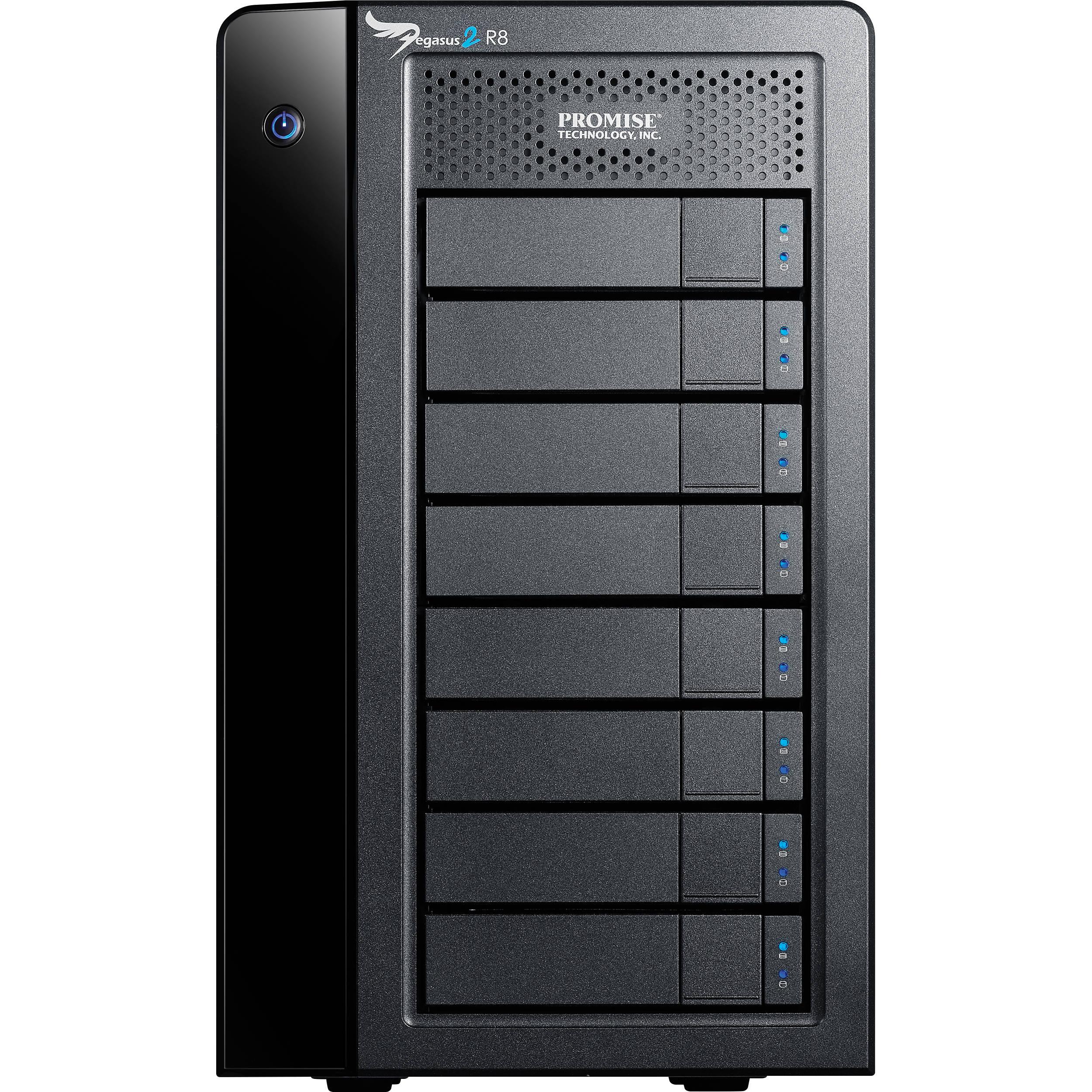 Promise Technology 32TB Pegasus2 R8 Thunderbolt 2 P2R8HD32HUS