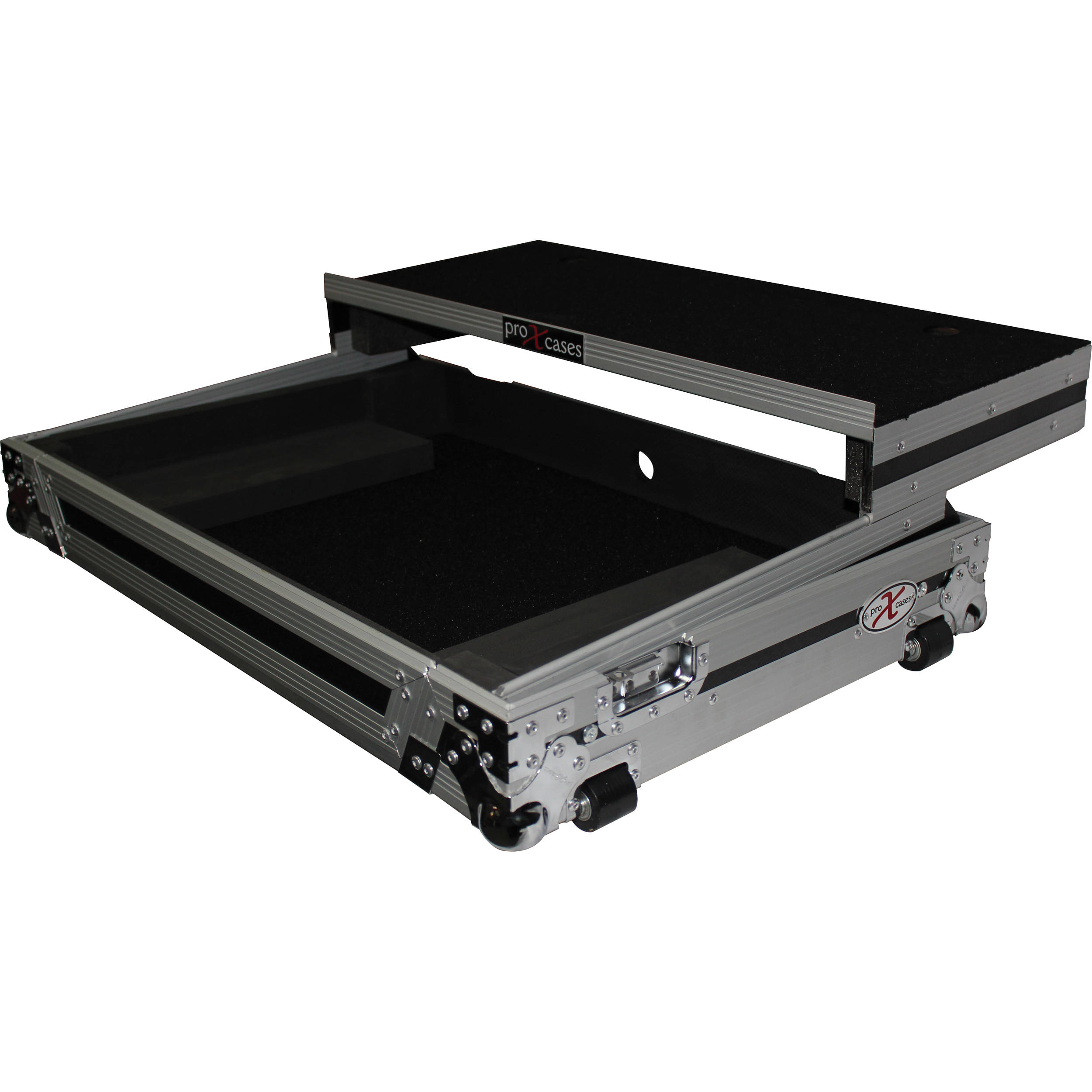 prox flight case for pioneer ddj sx ddj sx2 xs ddjsx wlt. Black Bedroom Furniture Sets. Home Design Ideas
