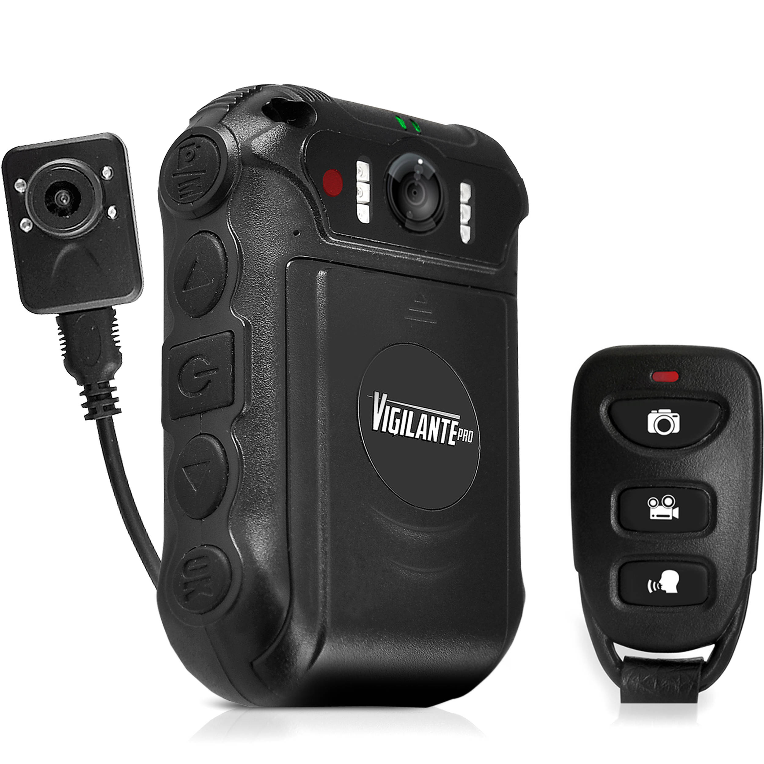 PYLE-SPORTS Vigilante Pro Compact Action Body Camera PPBCM16 B&H