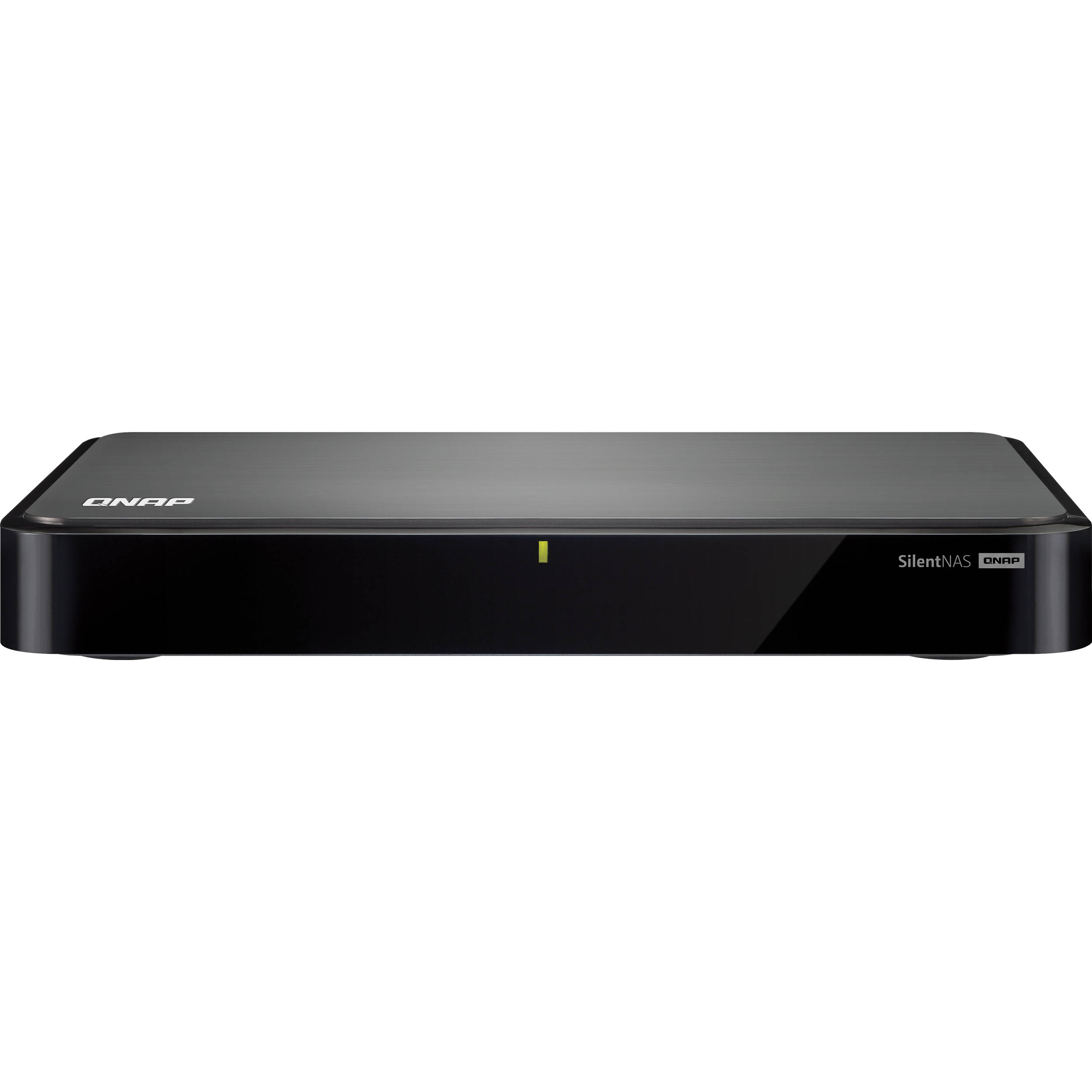 QNAP HS-251-2G 2-Bay Fanless Home and SOHO NAS HS-251-2G ...