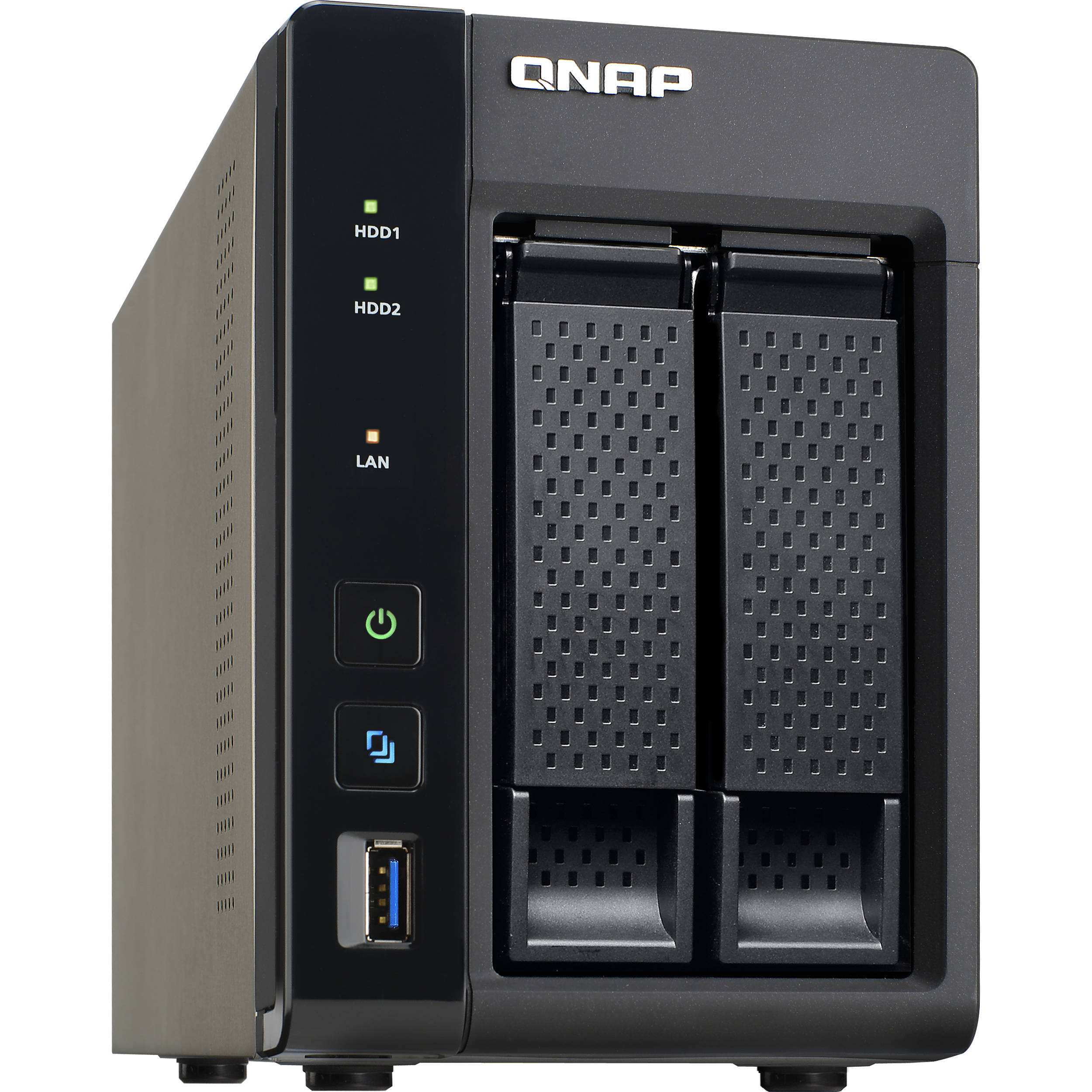 Qnap Ts 253a Two Bay Nas Enclosure Ts 253a 4g Us B Amp H Photo