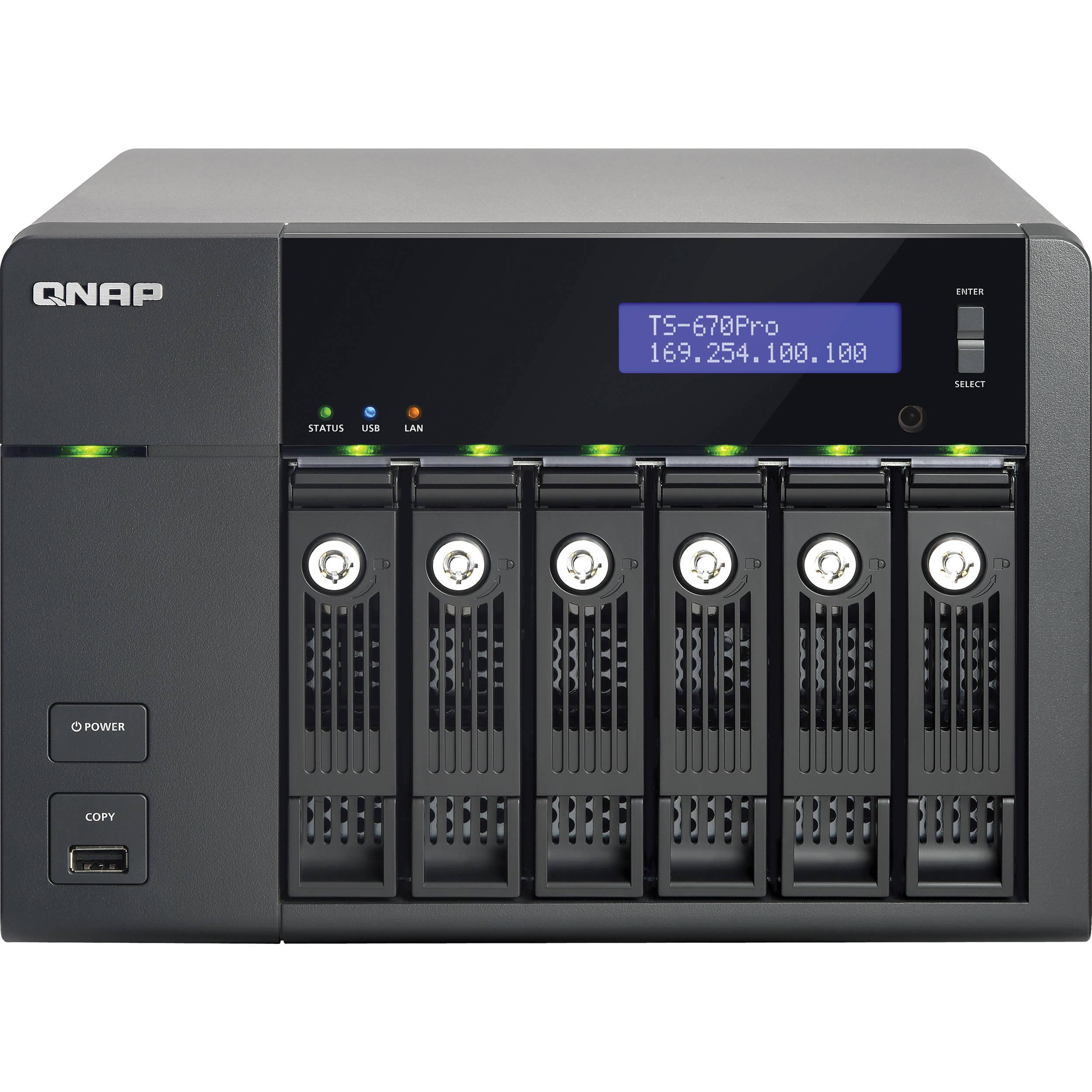 QNAP TS-670Pro TurboNAS QTS Download Driver