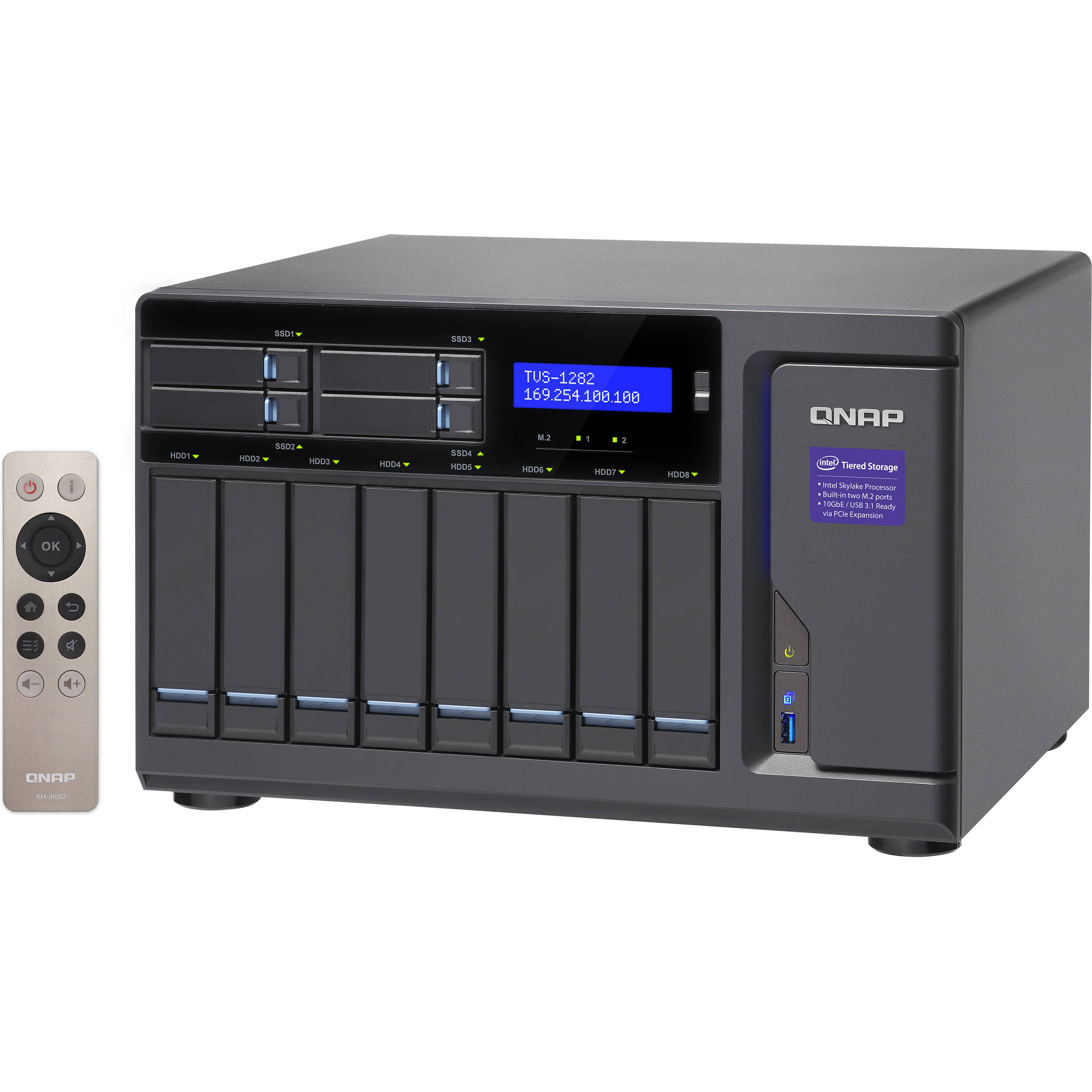 QNAP TVS-1282 12-Bay NAS Enclosure