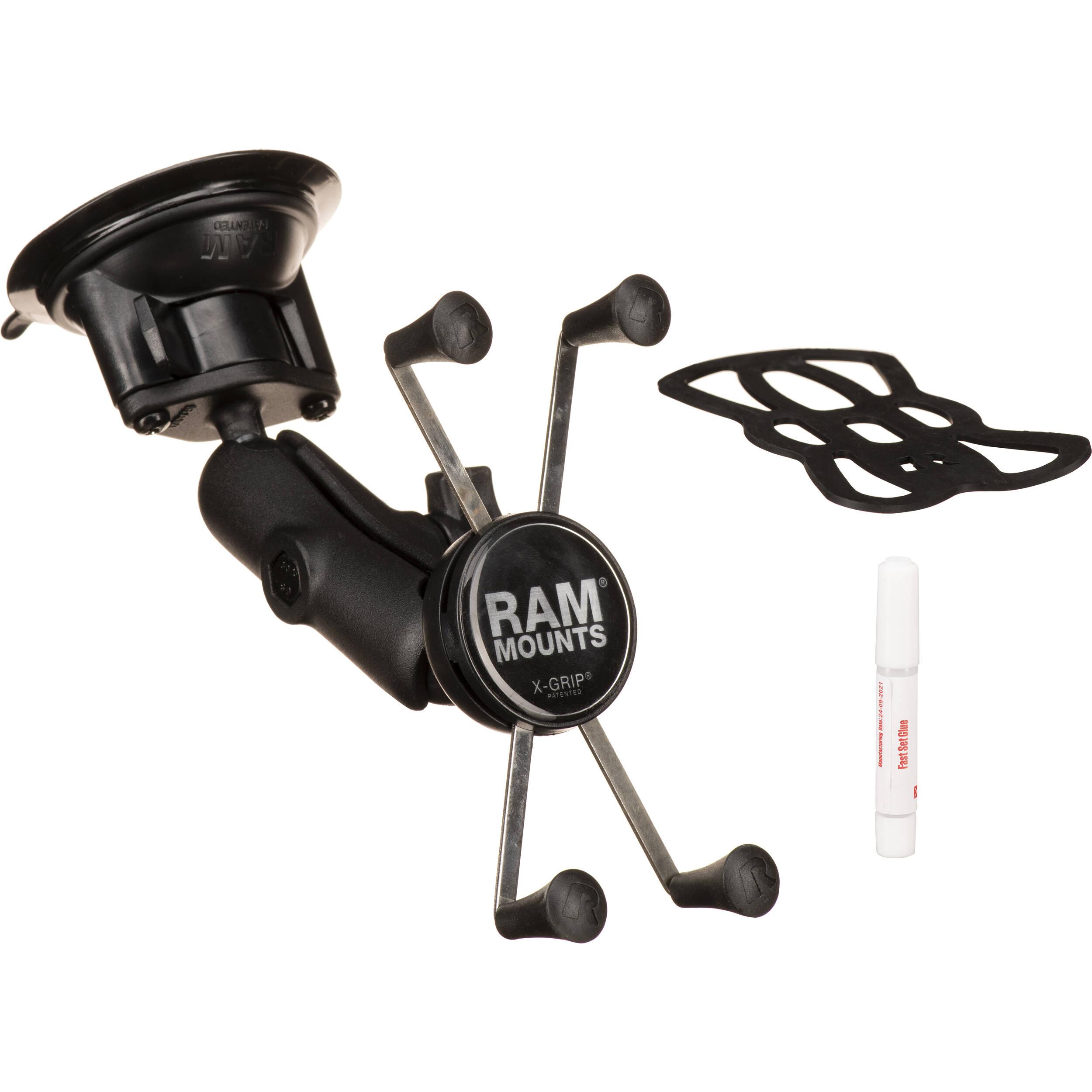 RAM MOUNTS Twist Lock Suction Cup Mount RAM-B-166-UN10U B&H