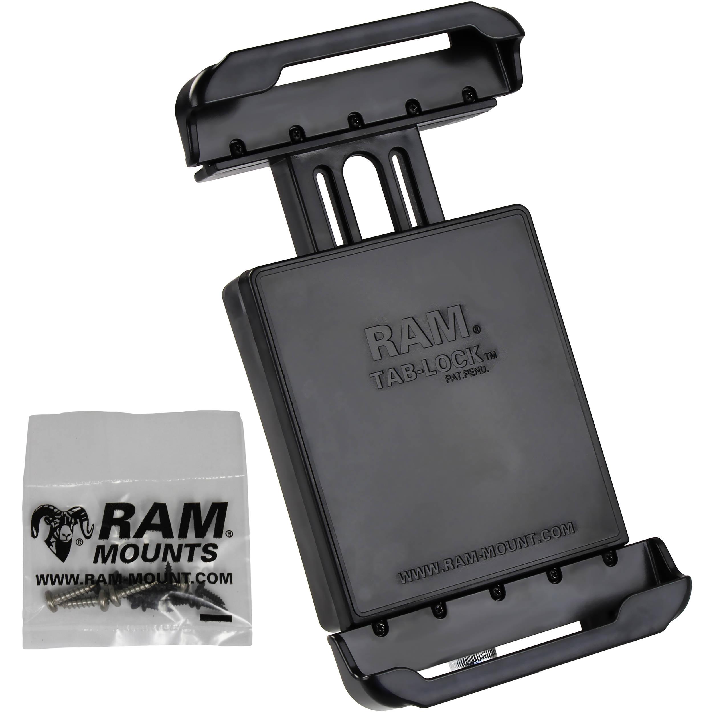 ram mounts tab lock locking cradle for samsung ram hol tabl23u. Black Bedroom Furniture Sets. Home Design Ideas