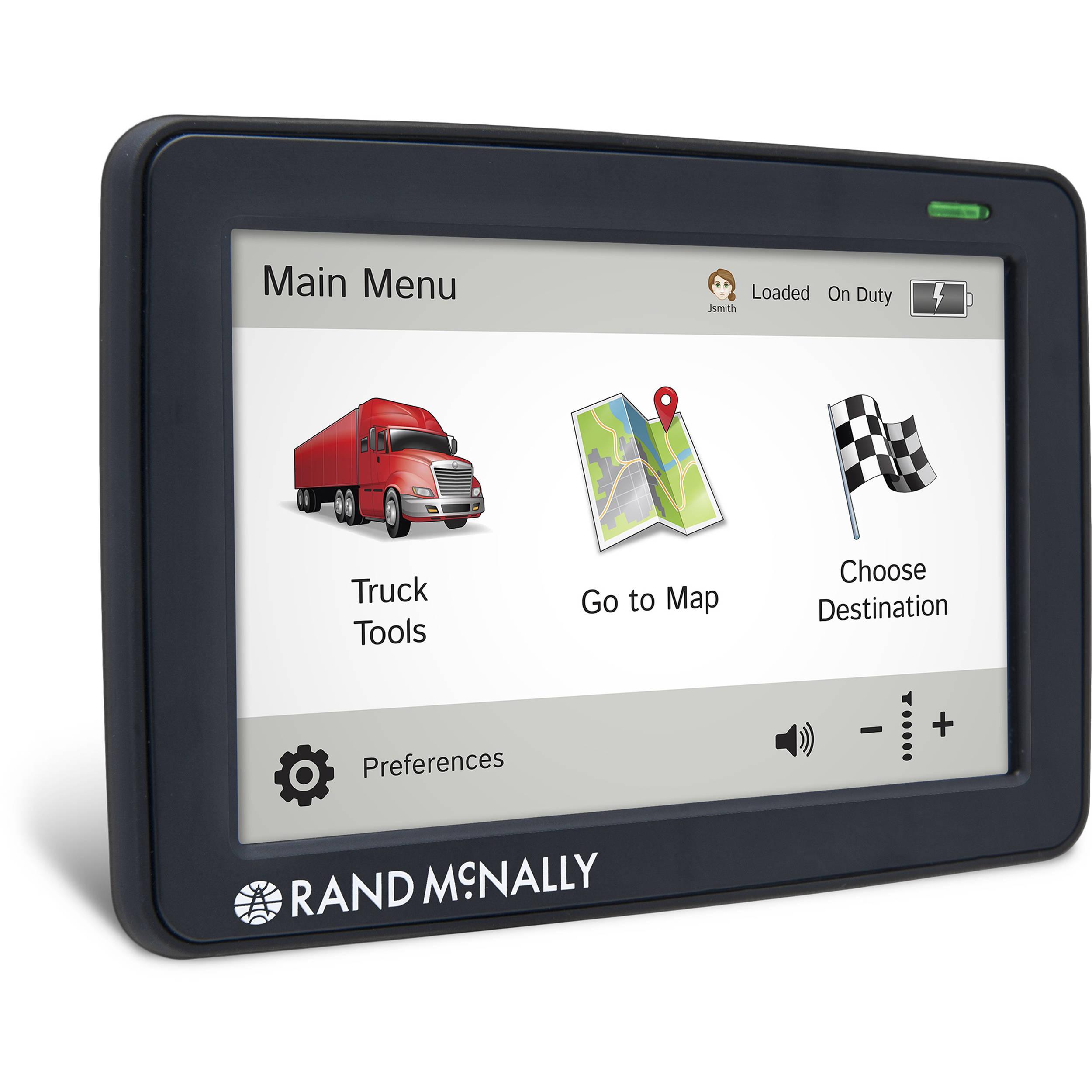 Rand Mcnally Gps >> Rand McNally IntelliRoute TND 530 LM GPS Device 528011707 B&H