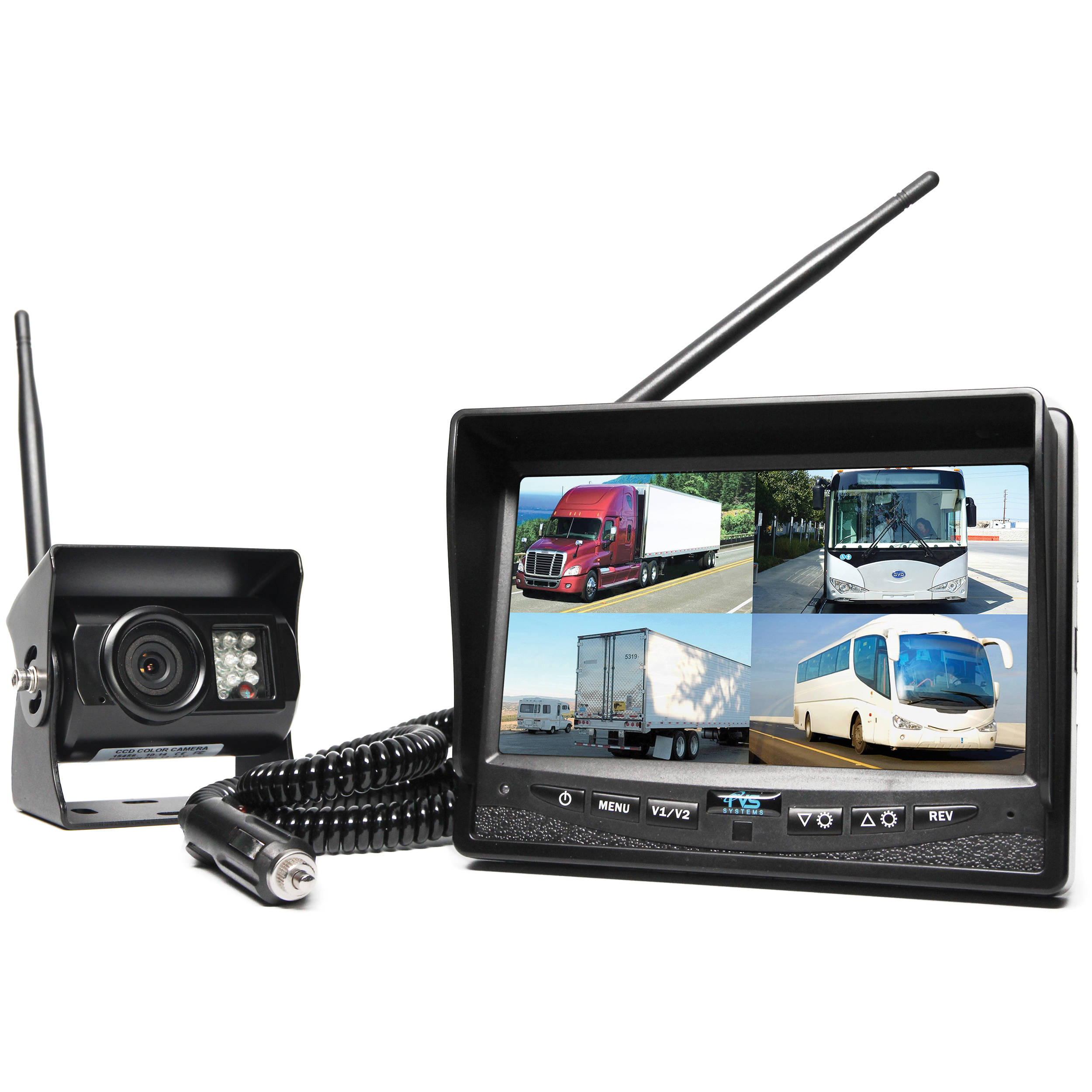 Wireless Rear View Camera Mirror Car Audio Systems