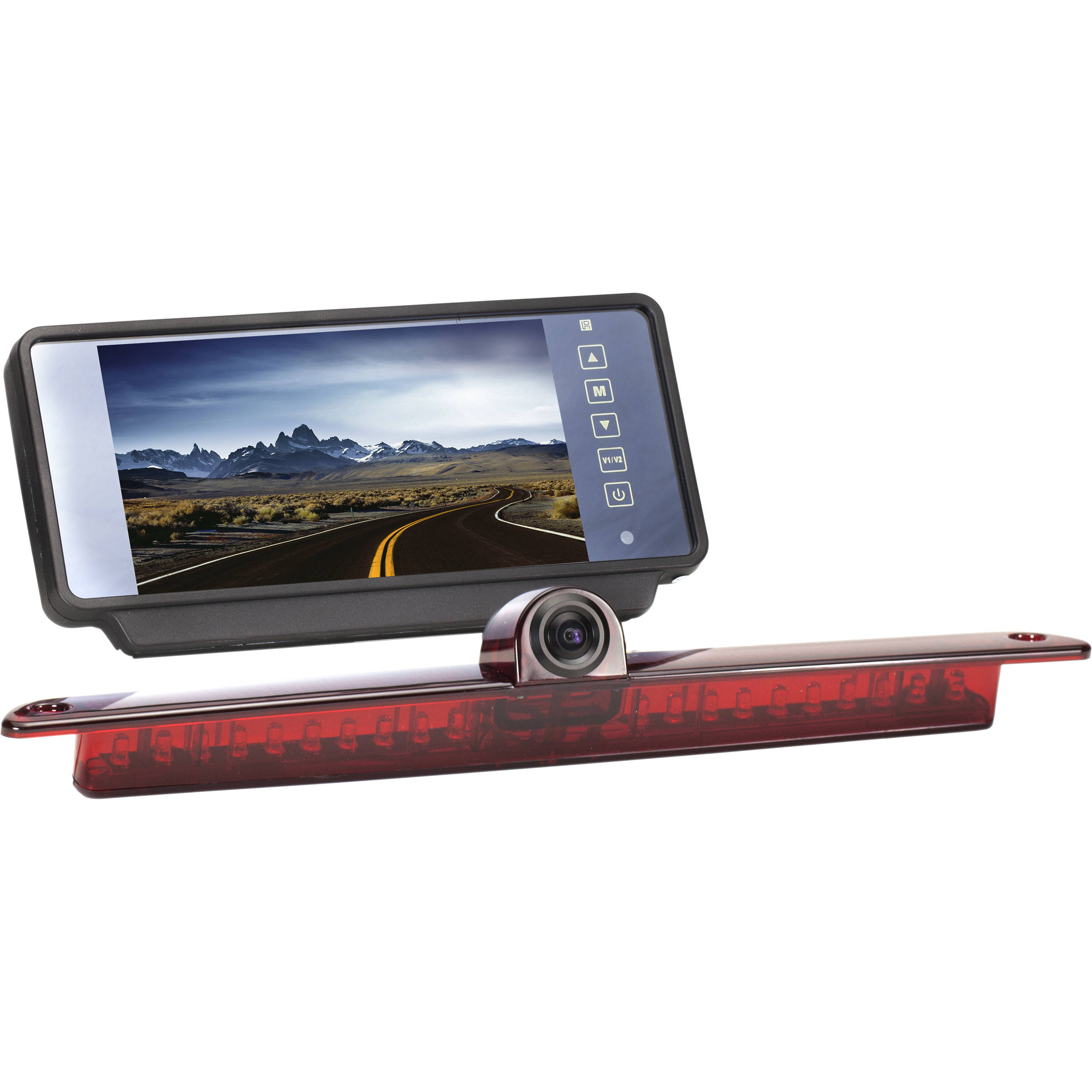 Rear view camera gps