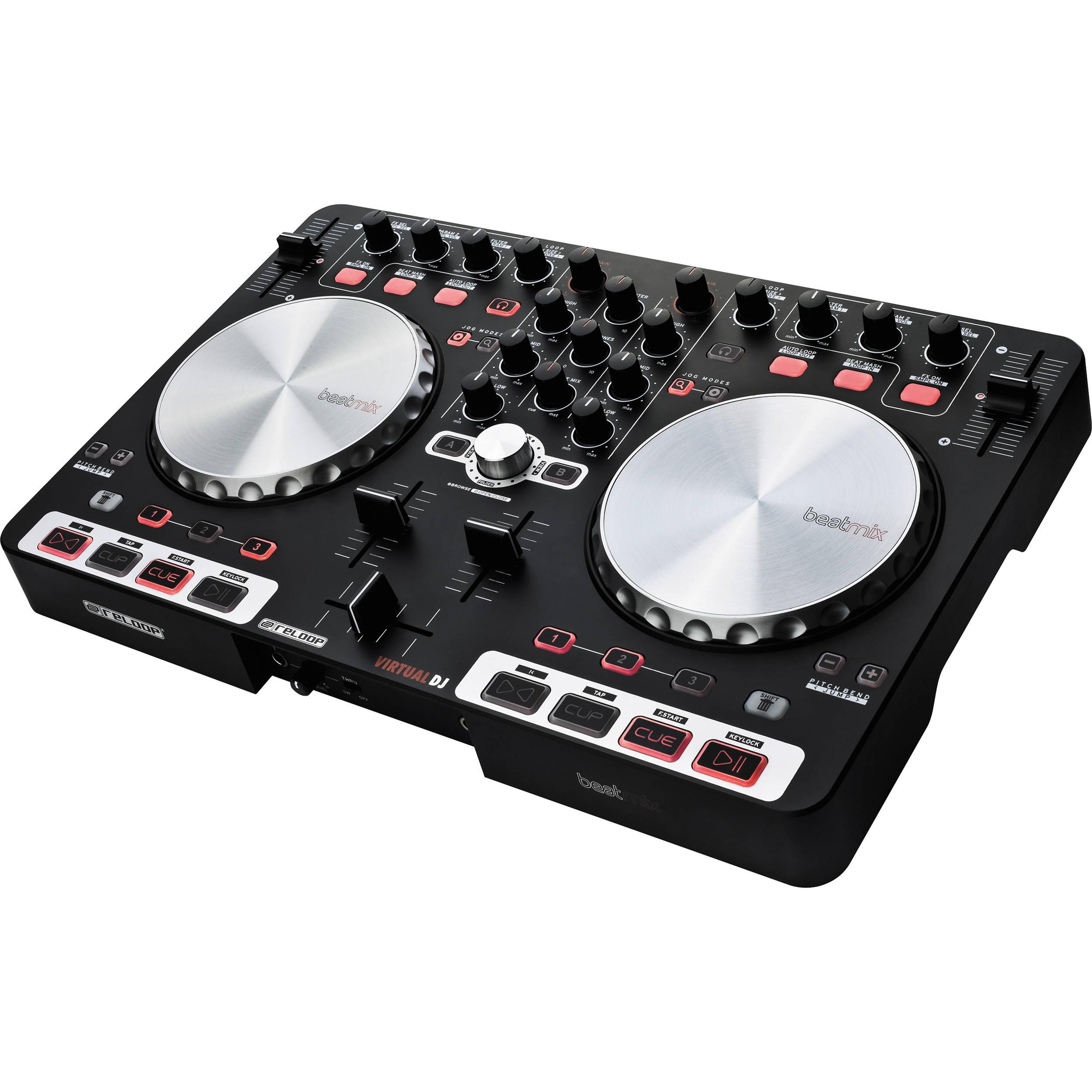 Reloop BeatMix DJ Controller ASIO Linux