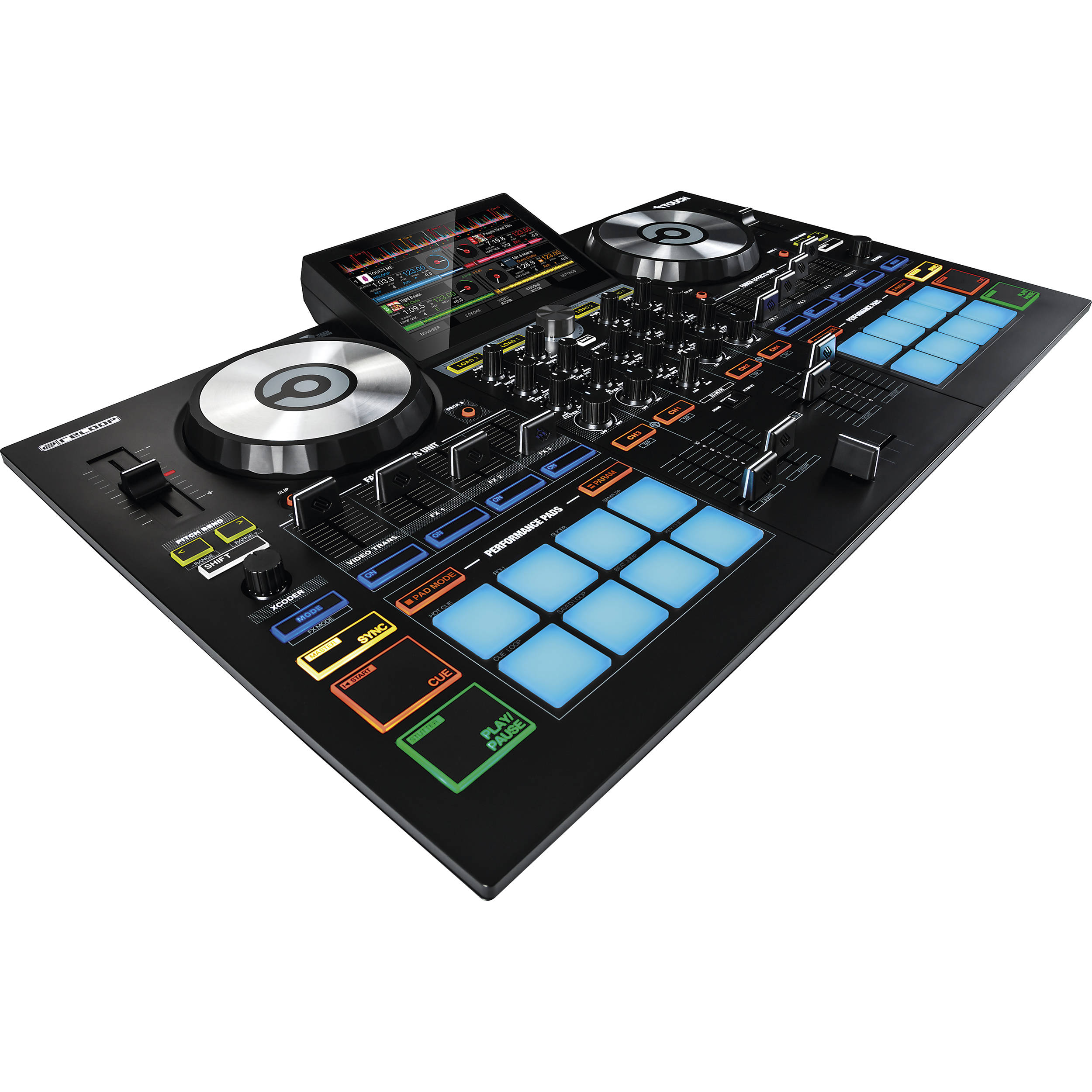 mixing using virtual dj