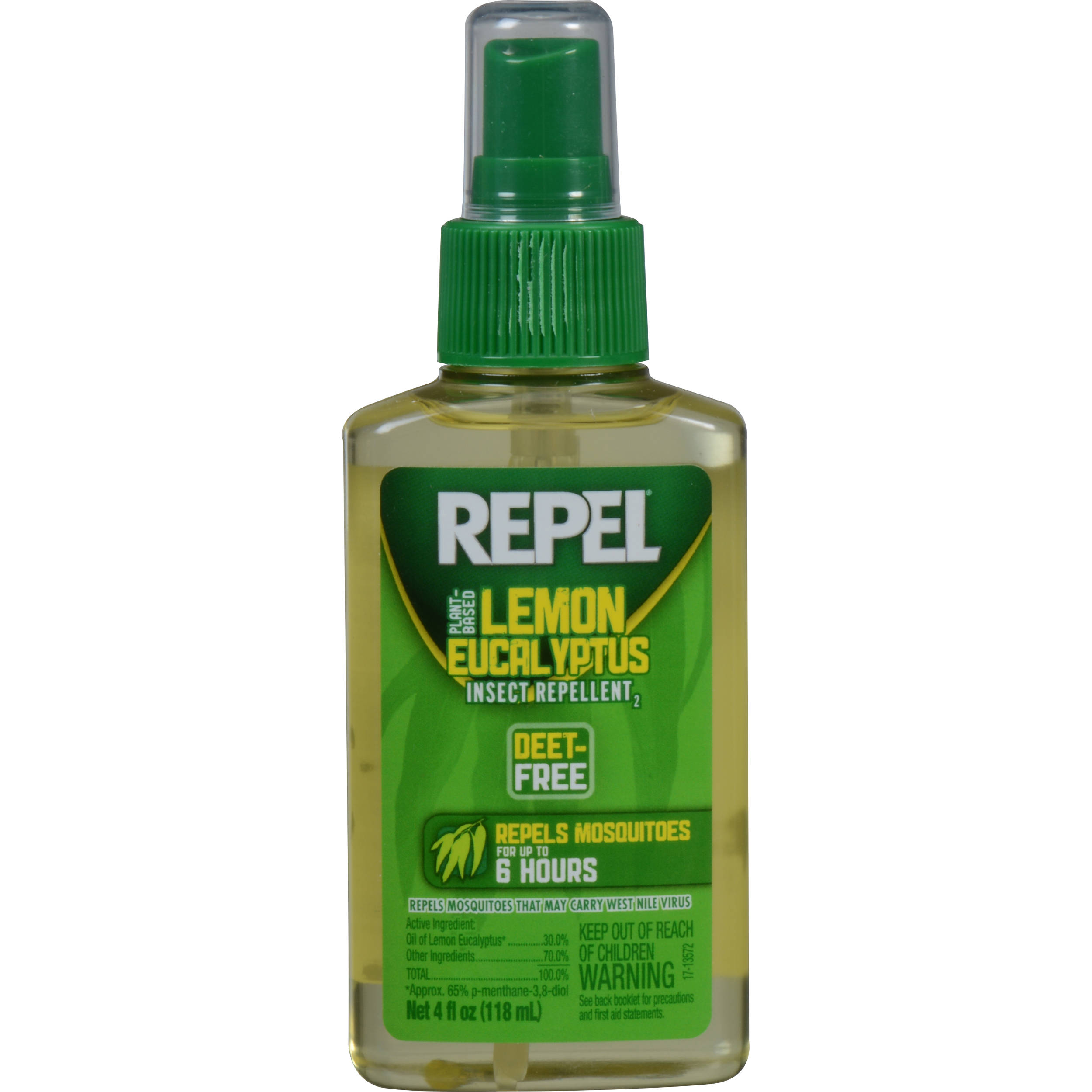 Repel Lemon Eucalyptus Insect Repellent Pump Spray (4 Oz