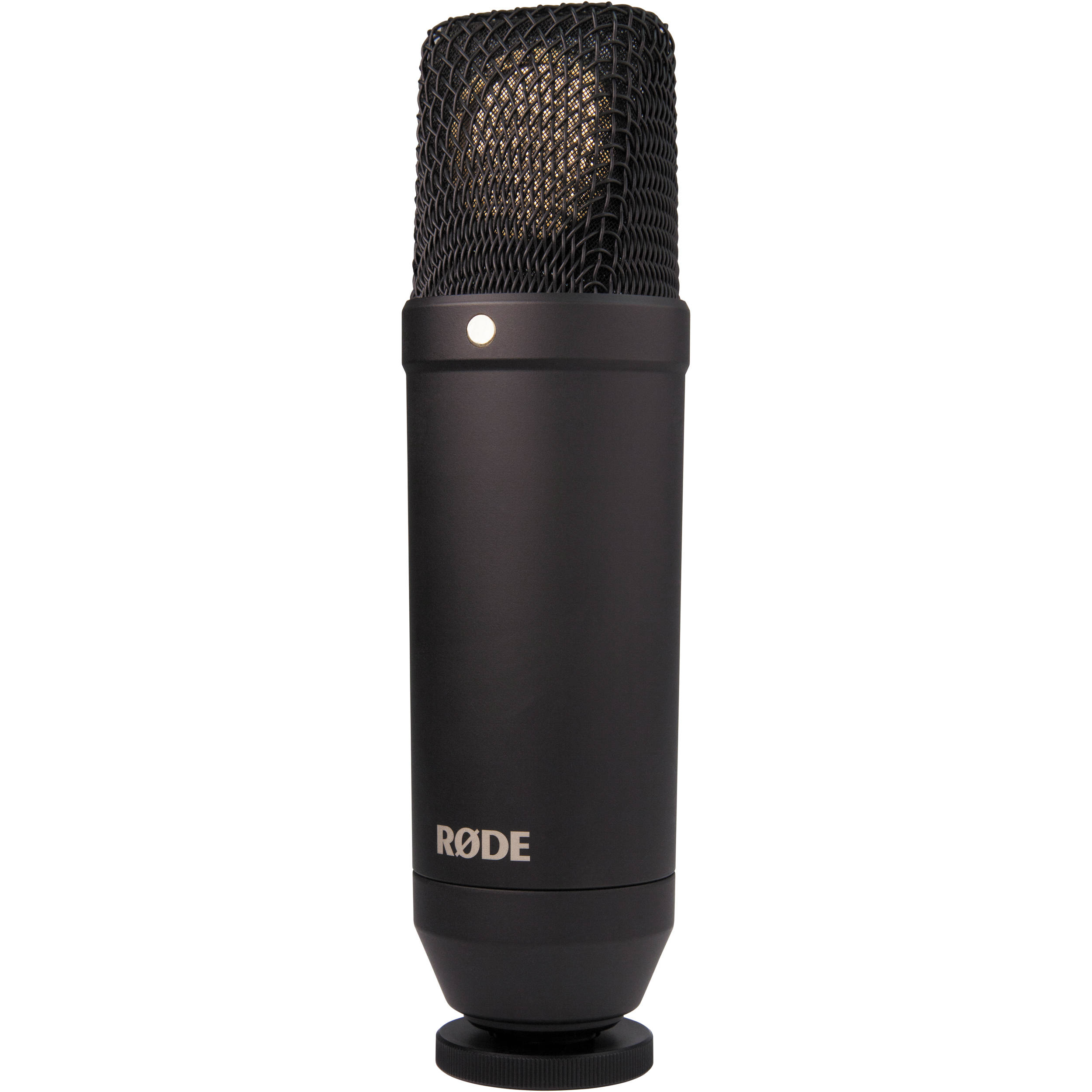 Rode NT1 Cardioid Condenser Microphone (Microphone Only ...
