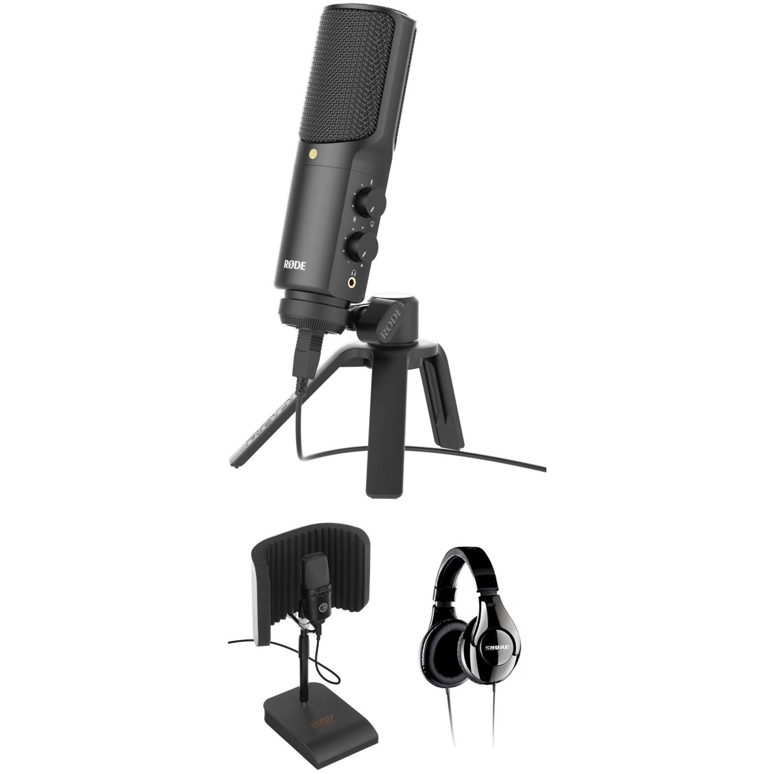 rode nt usb usb microphone with reflection filter and b h photo. Black Bedroom Furniture Sets. Home Design Ideas