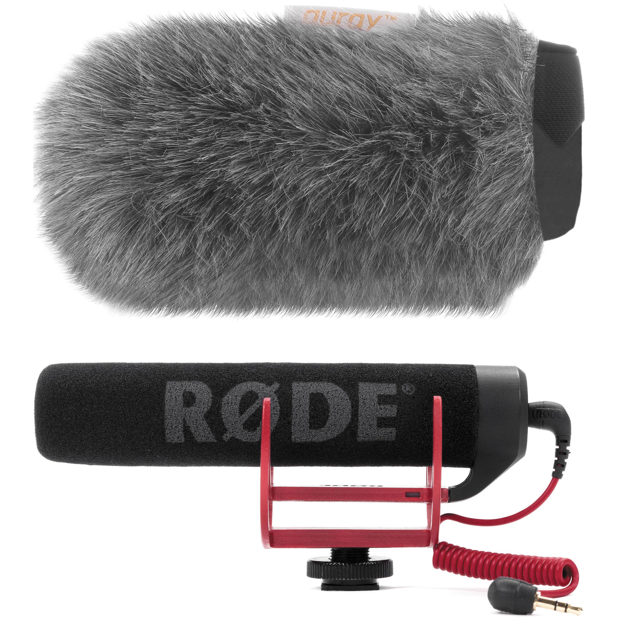 Rode VideoMic GO On-Camera Shotgun Microphone & Custom B&H