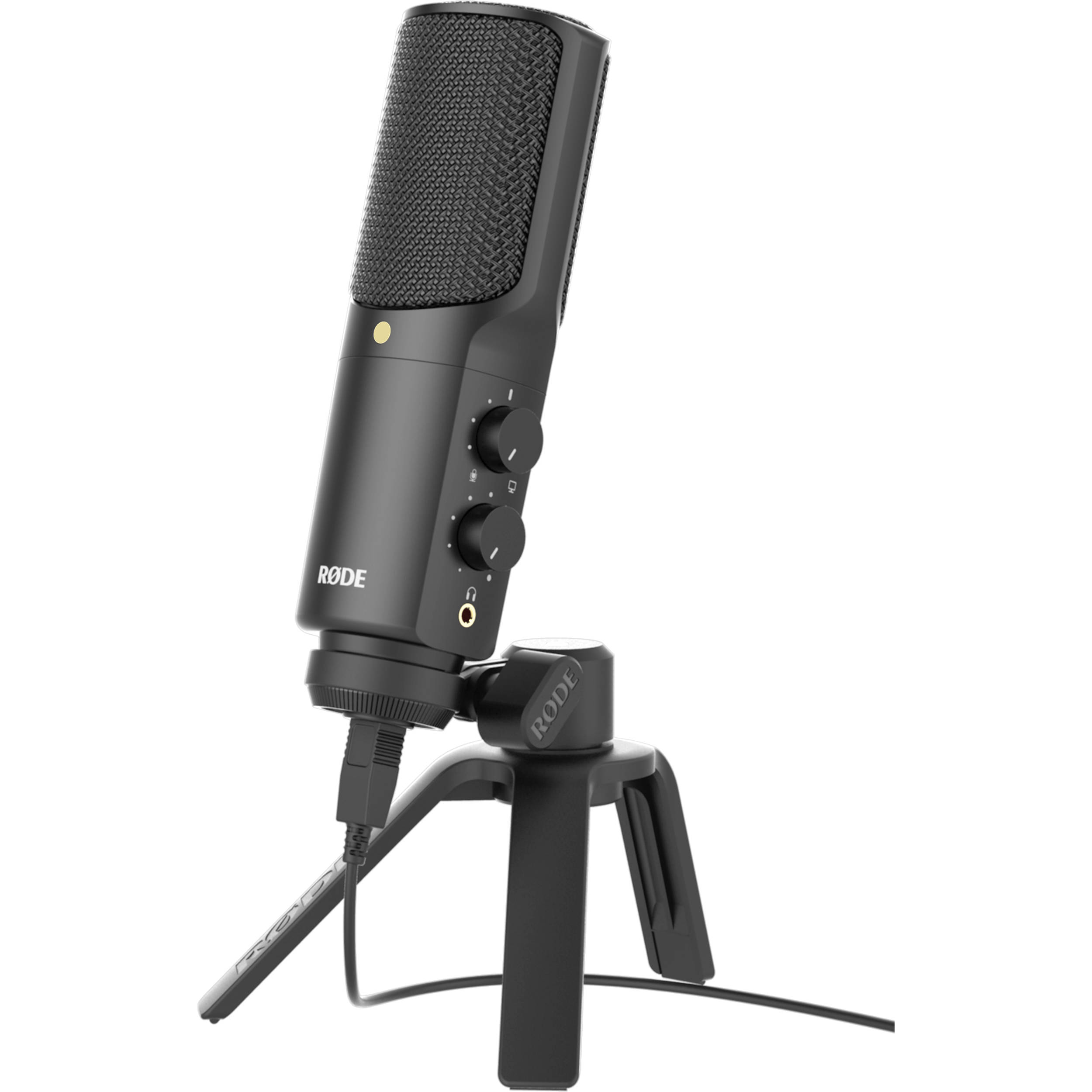 rode nt usb usb microphone rodntusb b h photo video. Black Bedroom Furniture Sets. Home Design Ideas