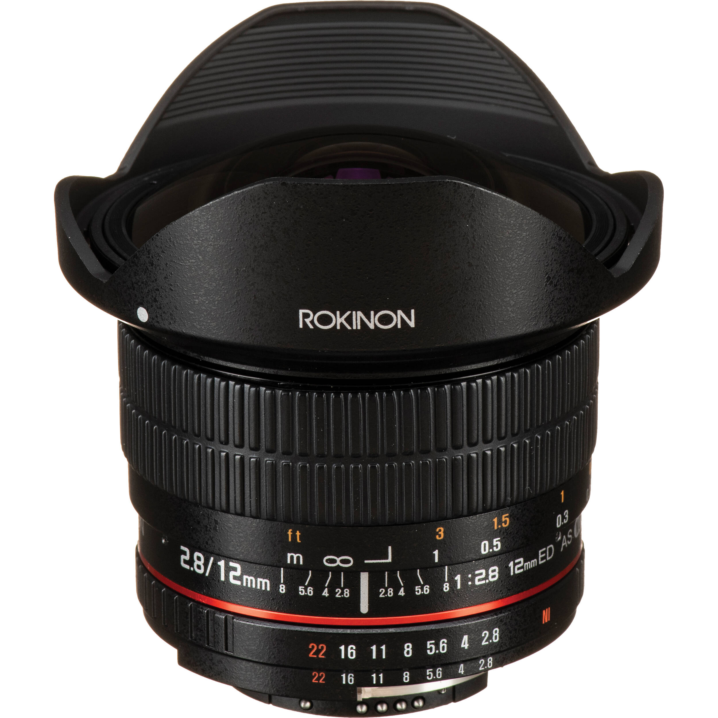 Rokinon 12mm f 2 8 ed as if ncs umc fisheye lens for nikon for Fish eye camera