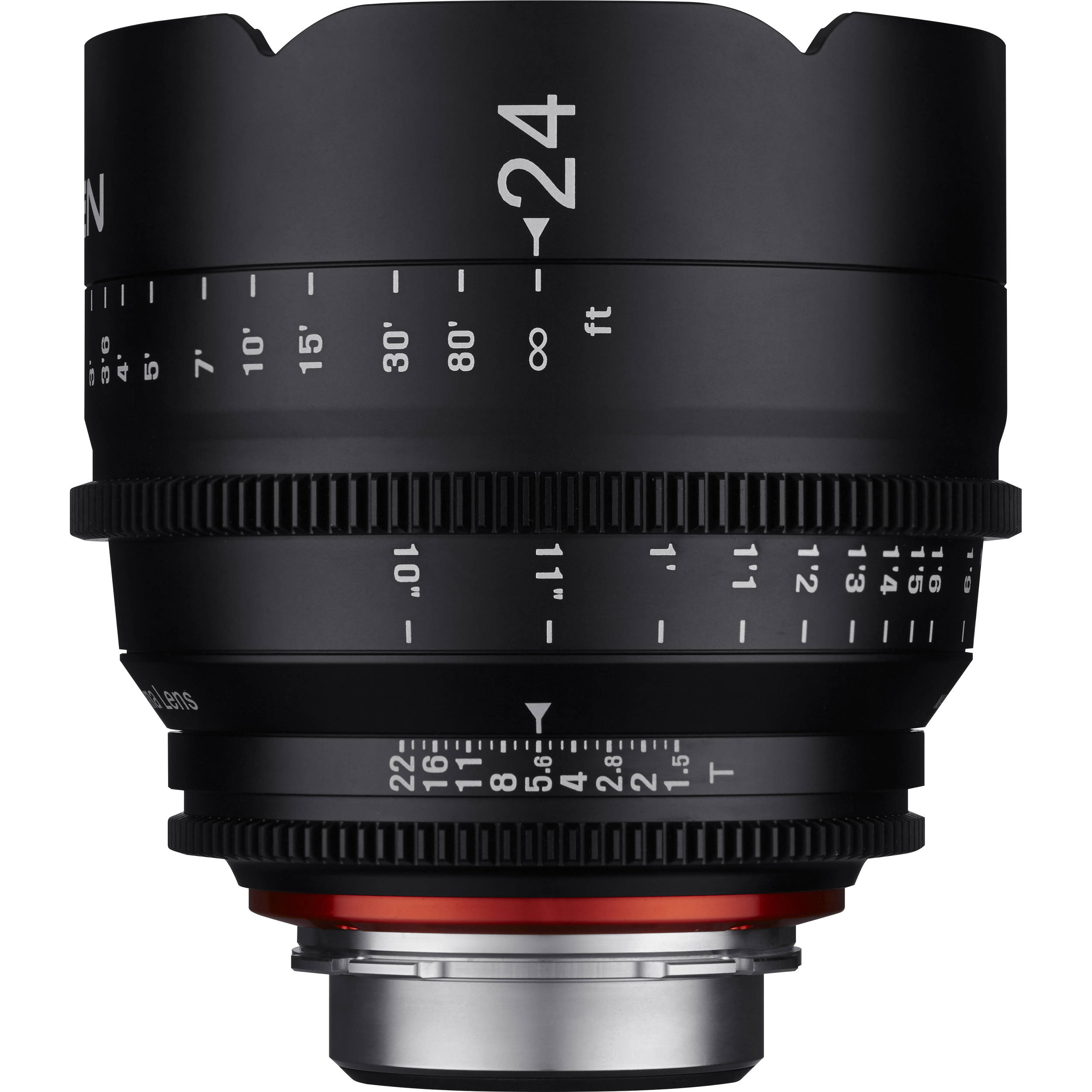 0aa8d4029a64 Rokinon Xeen 24mm T1.5 Lens for PL Mount XN24-PL B H Photo Video