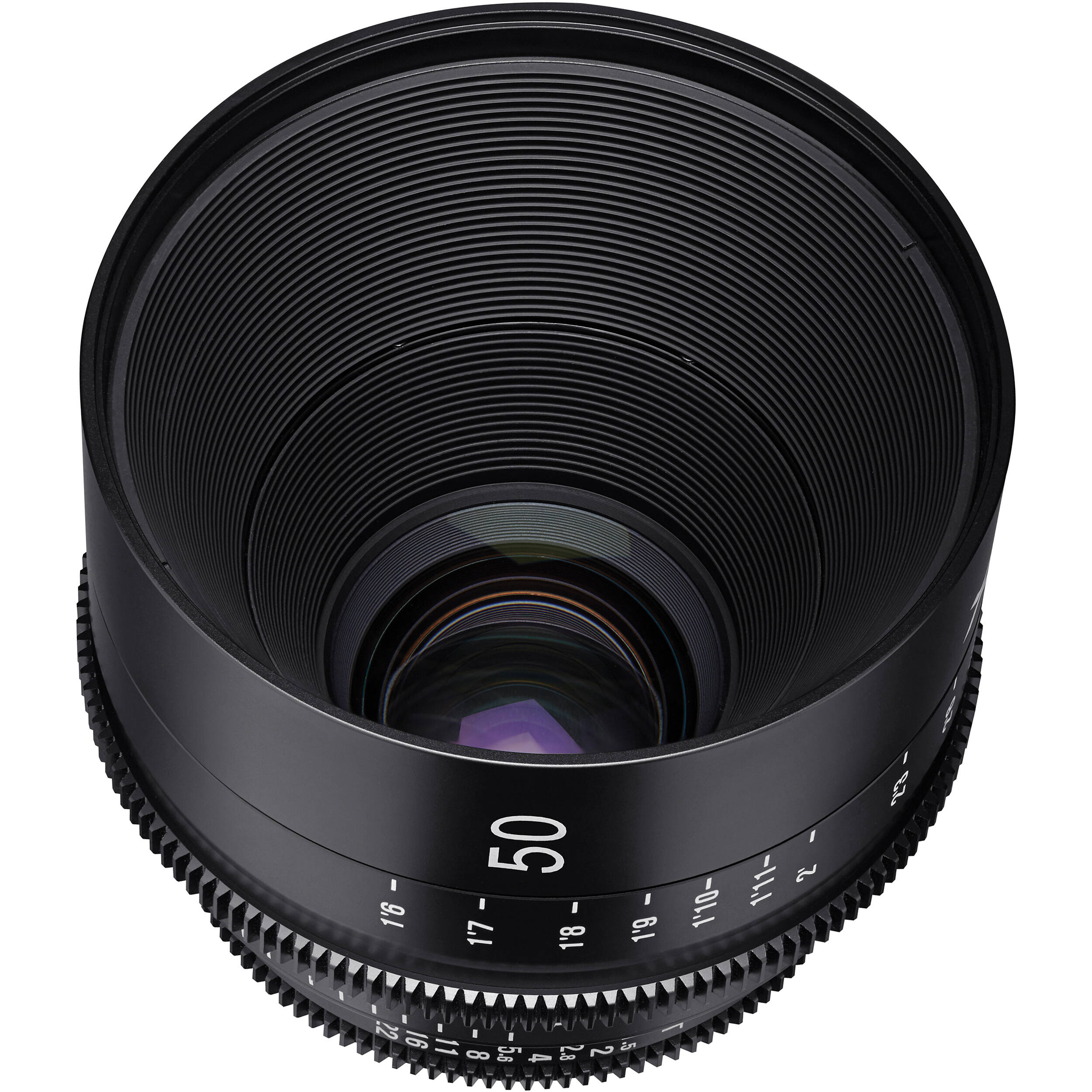 beb00e37a3a0 Rokinon Xeen 50mm T1.5 Lens for Nikon F Mount XN50-N B H Photo