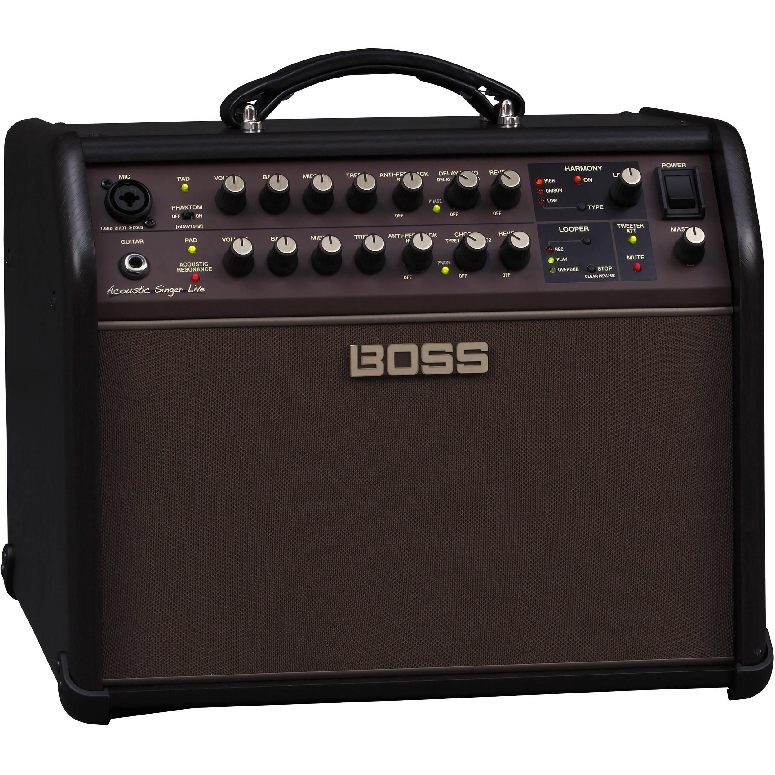 boss acs live 60w combo amplifier for acoustic guitar acs live. Black Bedroom Furniture Sets. Home Design Ideas