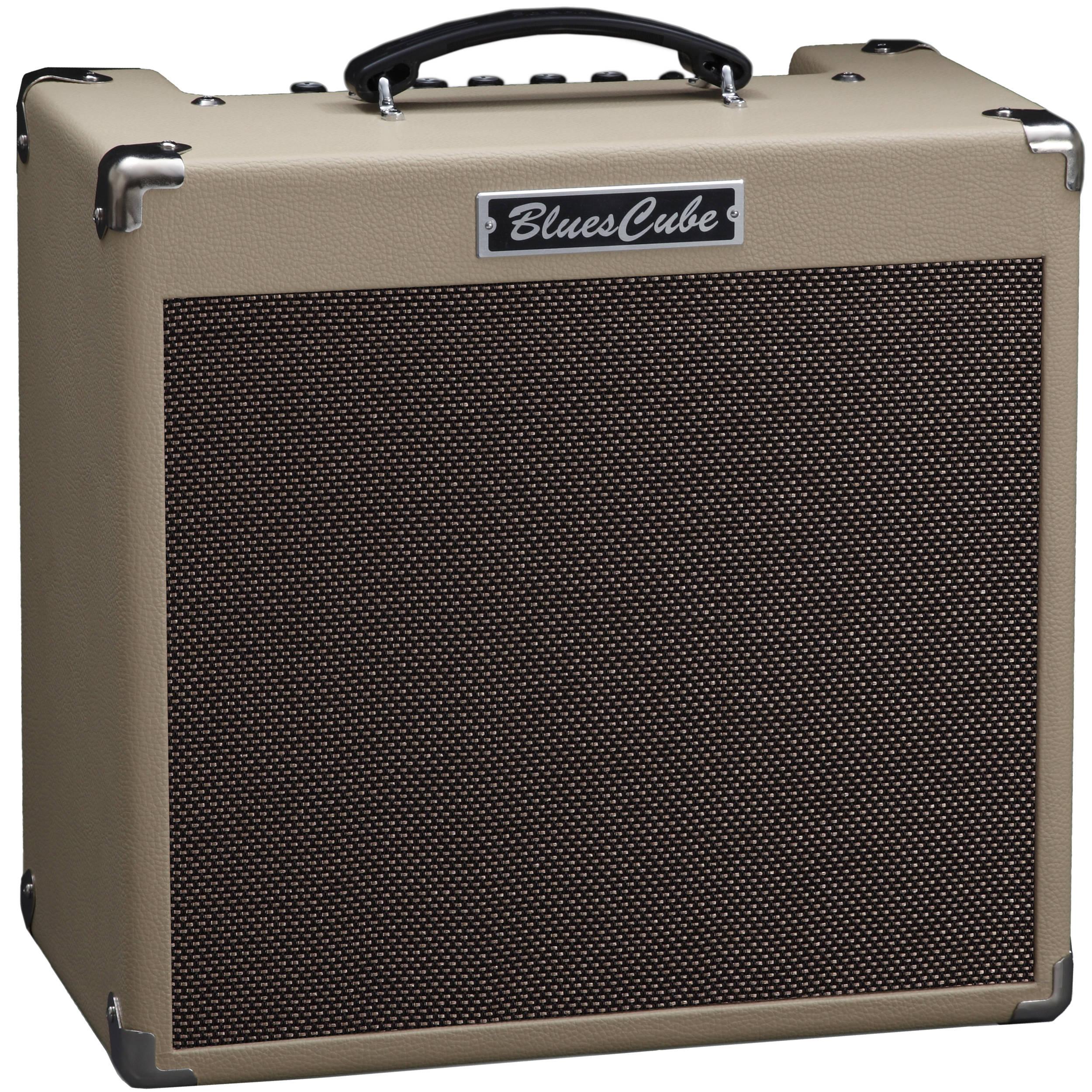 roland blues cube hot 30w 1x12 guitar combo bc hot vb b h. Black Bedroom Furniture Sets. Home Design Ideas
