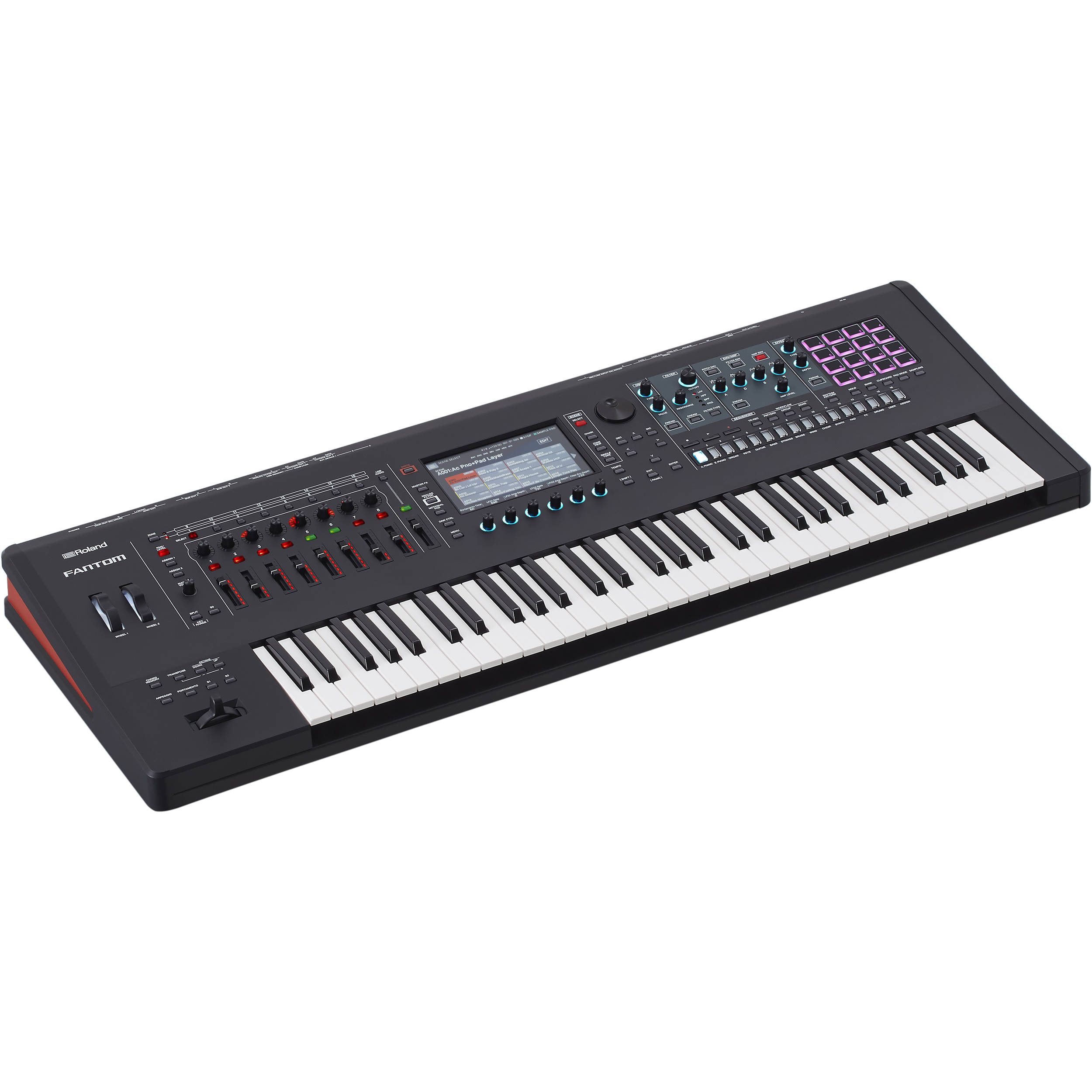 88-Tasten Digital Piano Stage Set Keyboard USB MIDI Effekte Ständer Kopfhörer