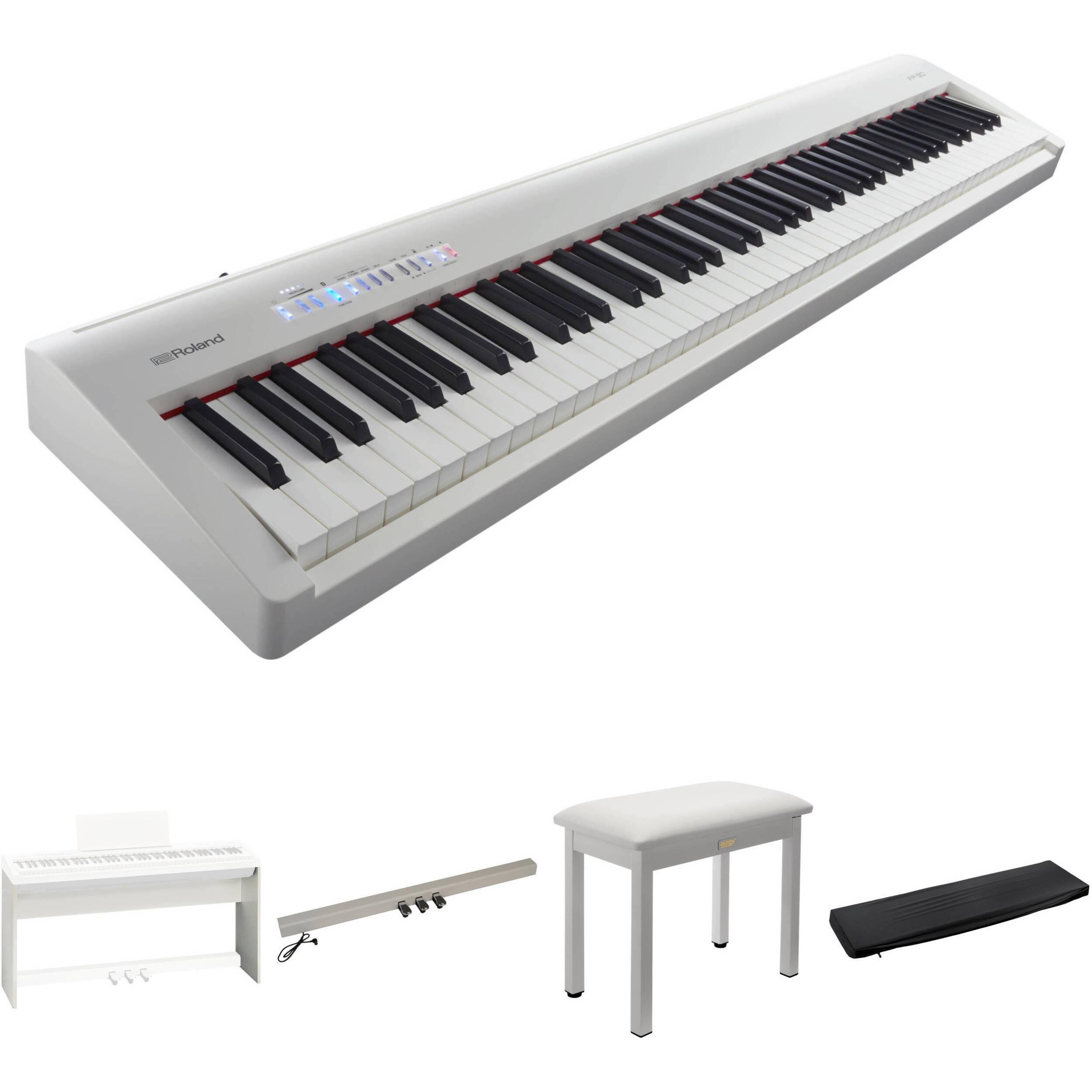 Roland Fp 30 88 Key Supernatural Digital Piano : roland fp 30 digital piano kit with stand pedal unit bench ~ Hamham.info Haus und Dekorationen