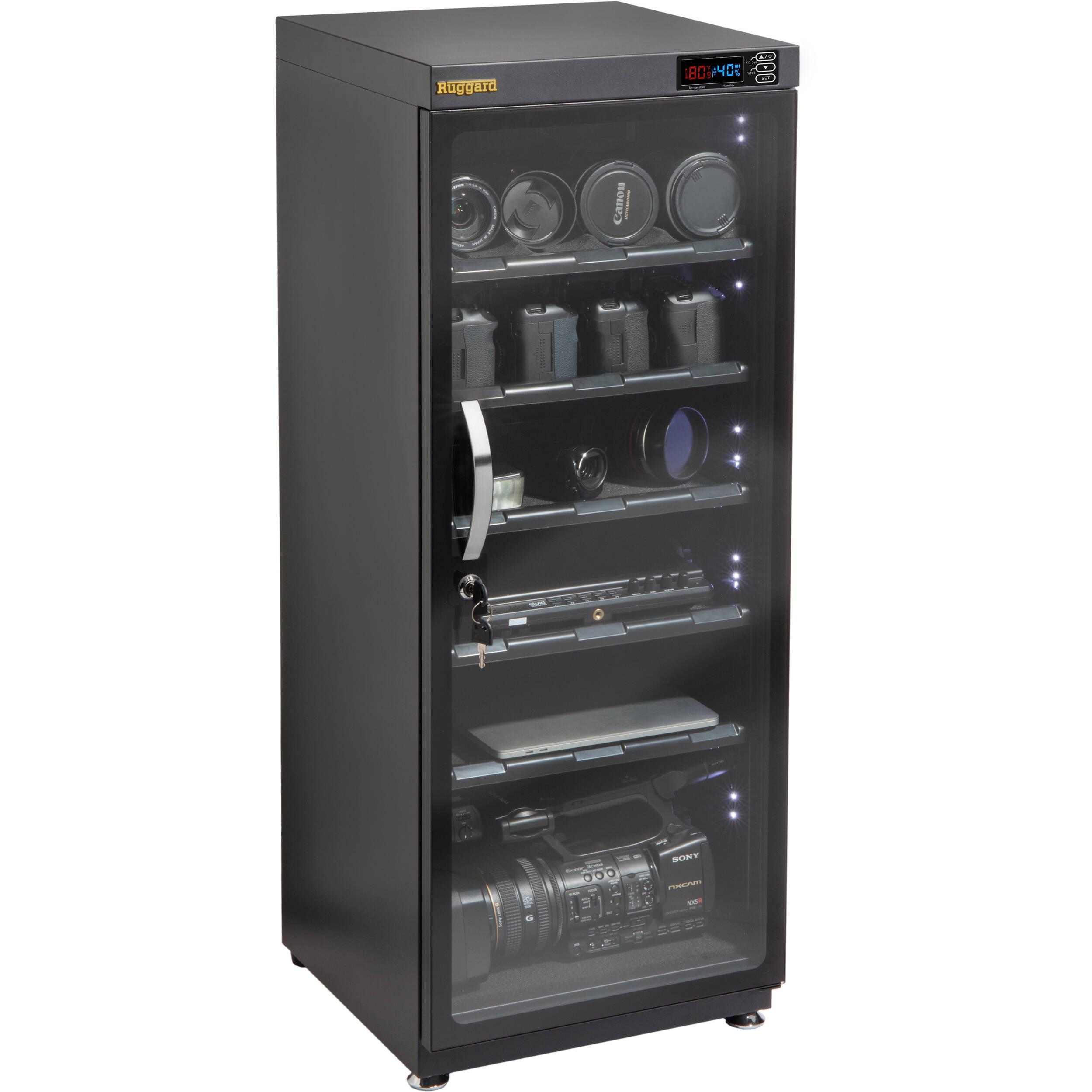 ruggard electronic dry cabinet (120l) edc-120l b&h photo video