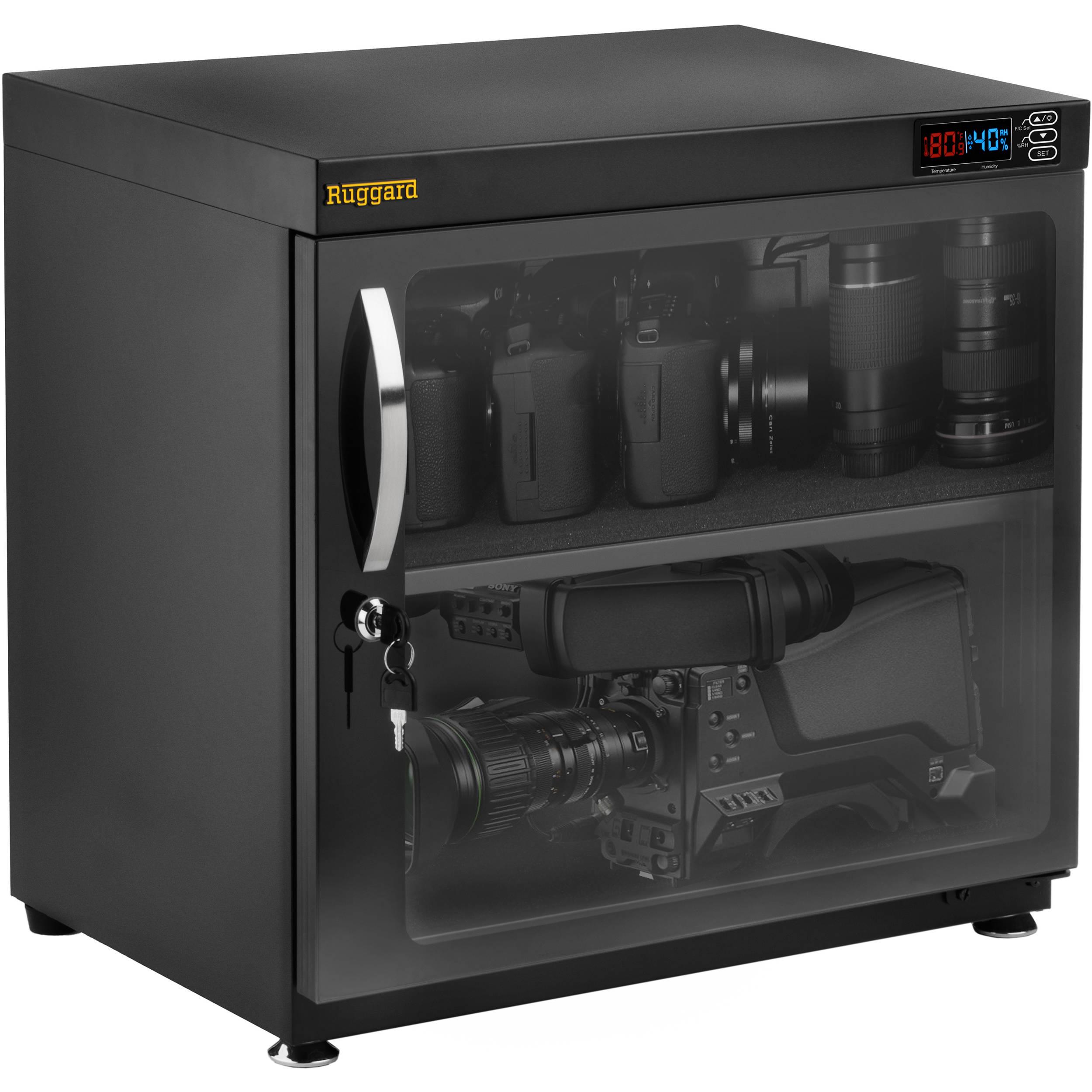 ruggard electronic dry cabinet (80l) edc-80l b&h photo video