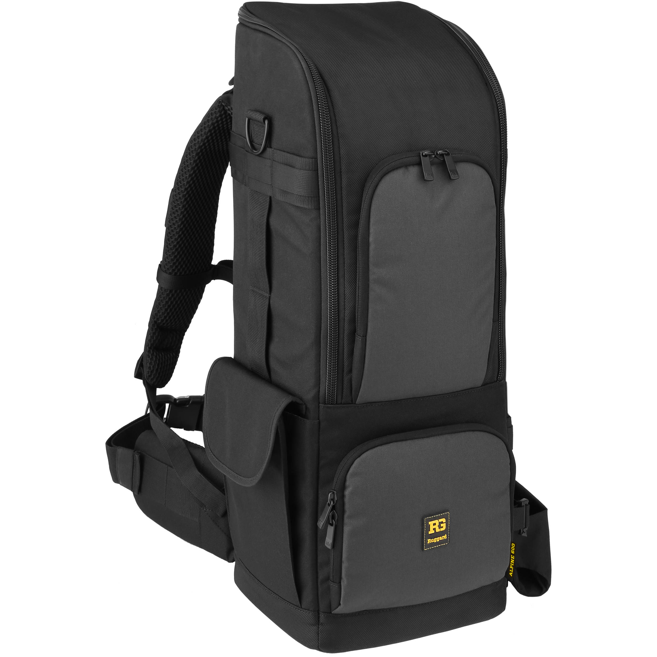 2ef3dbe49b17 Ruggard Alpine 600 Lens Backpack for DSLR and 600 800mm Lens (Black)