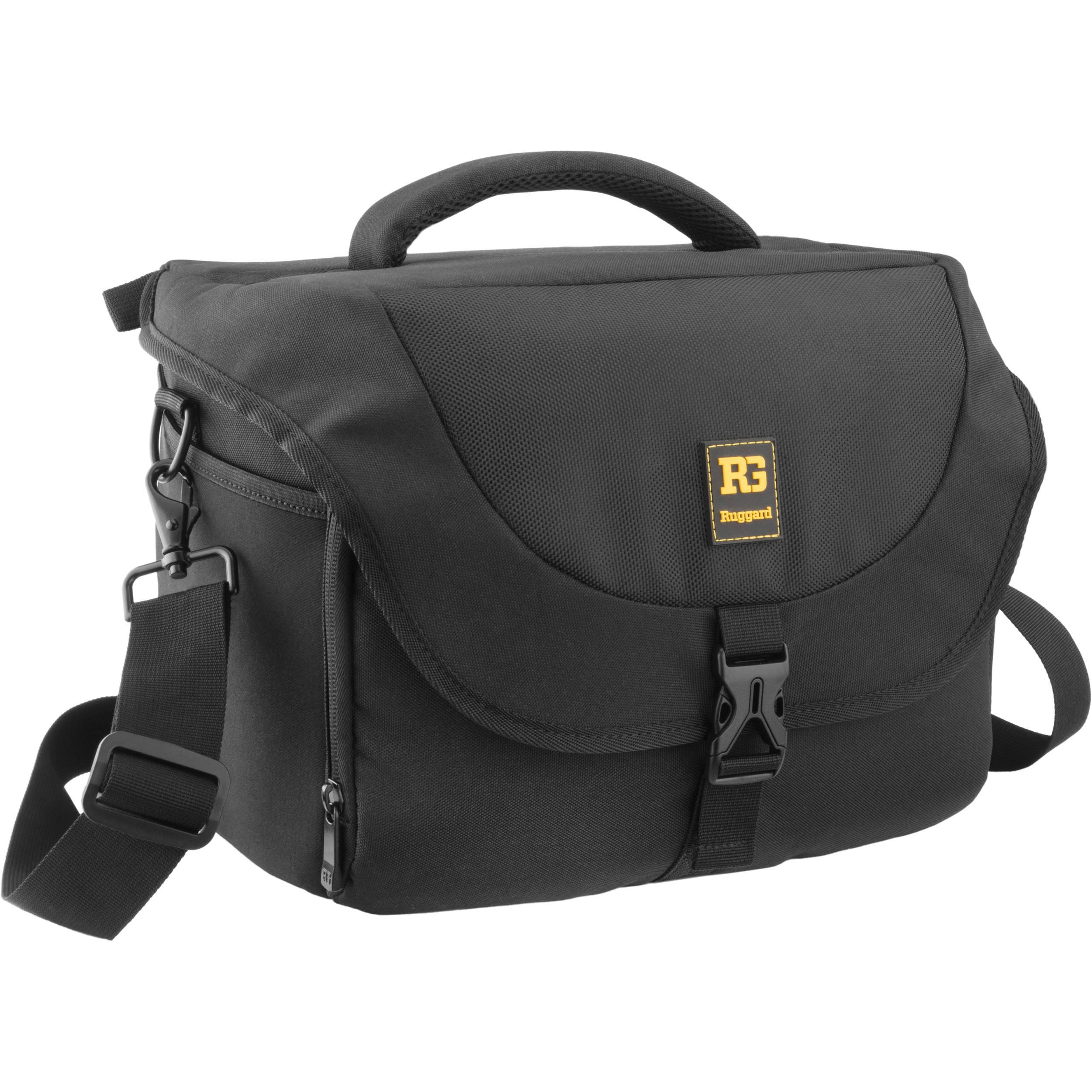 Ruggard Journey 44 DSLR Shoulder Bag (Black) 9c2680ae6eb